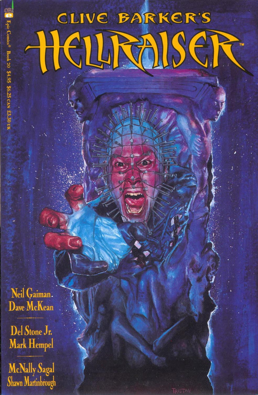 Clive Barkers Hellraiser (1989) 20 Page 1