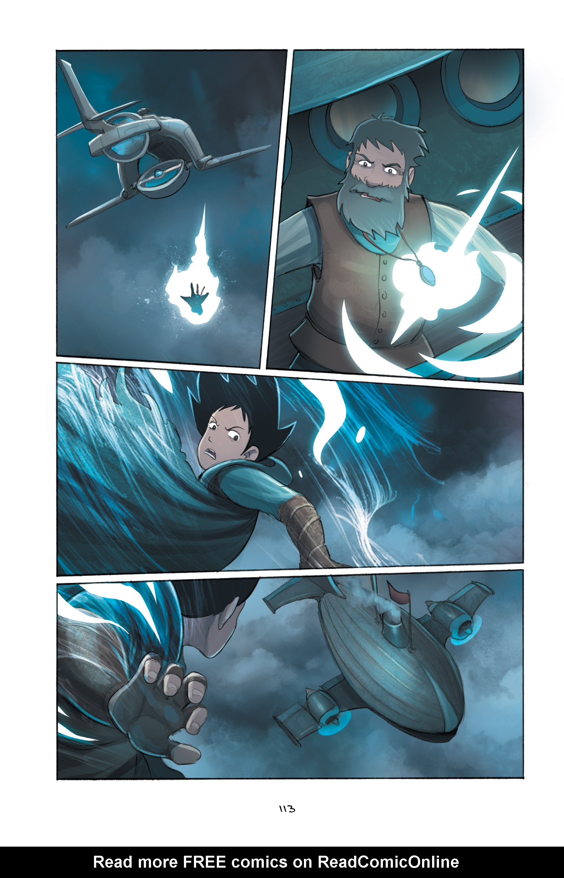Read online Amulet comic -  Issue #5 - 113