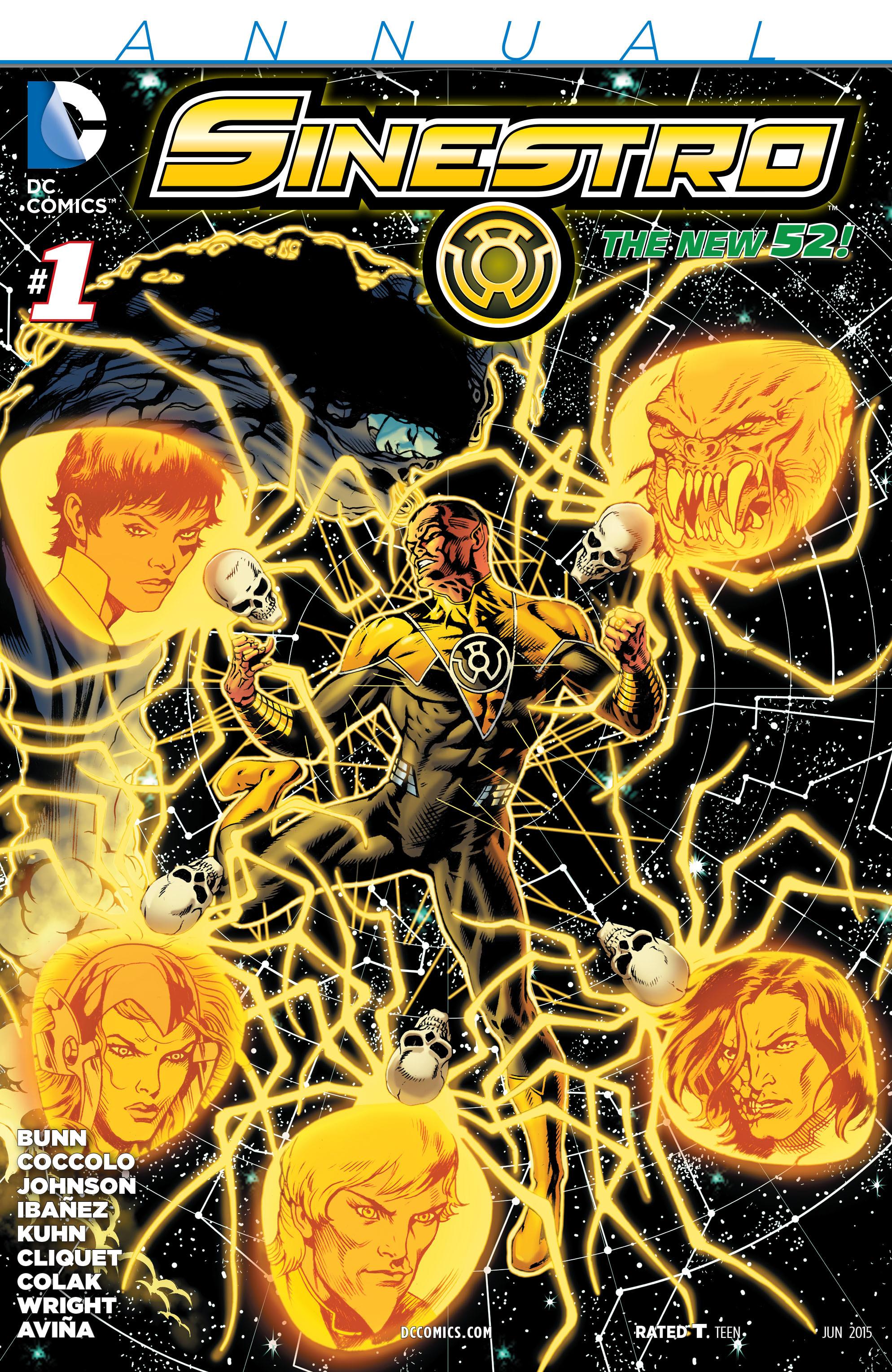 Read online Sinestro comic -  Issue # Annual 1 - 1