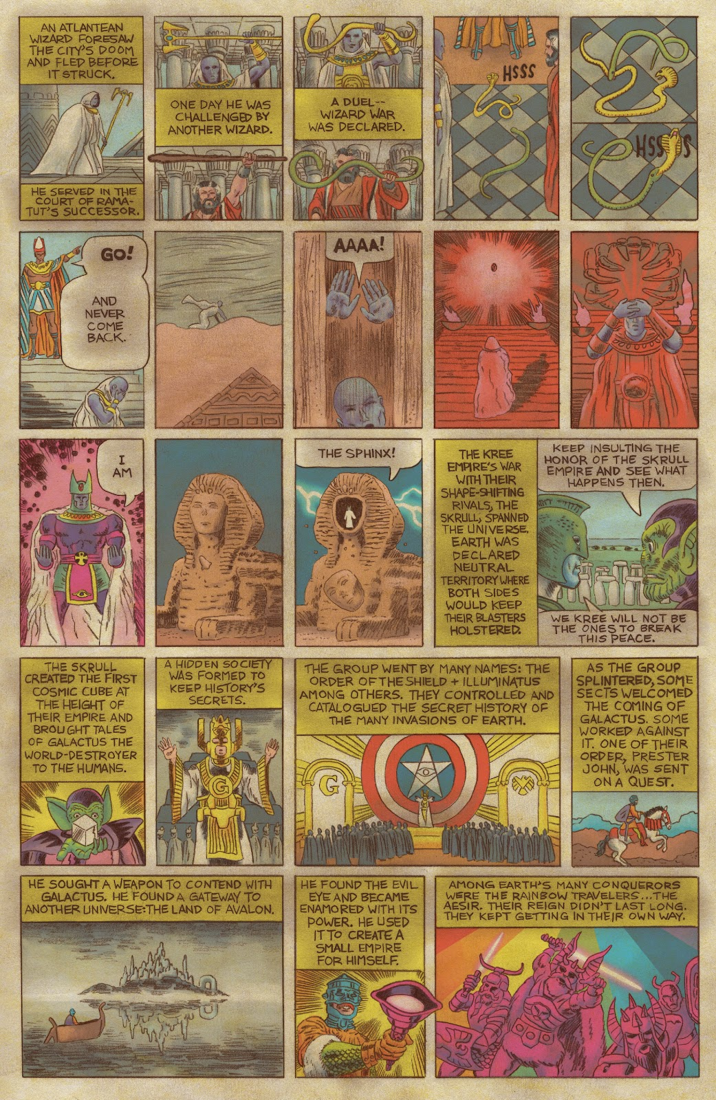 Read online Fantastic Four: Grand Design comic -  Issue #1 - 7