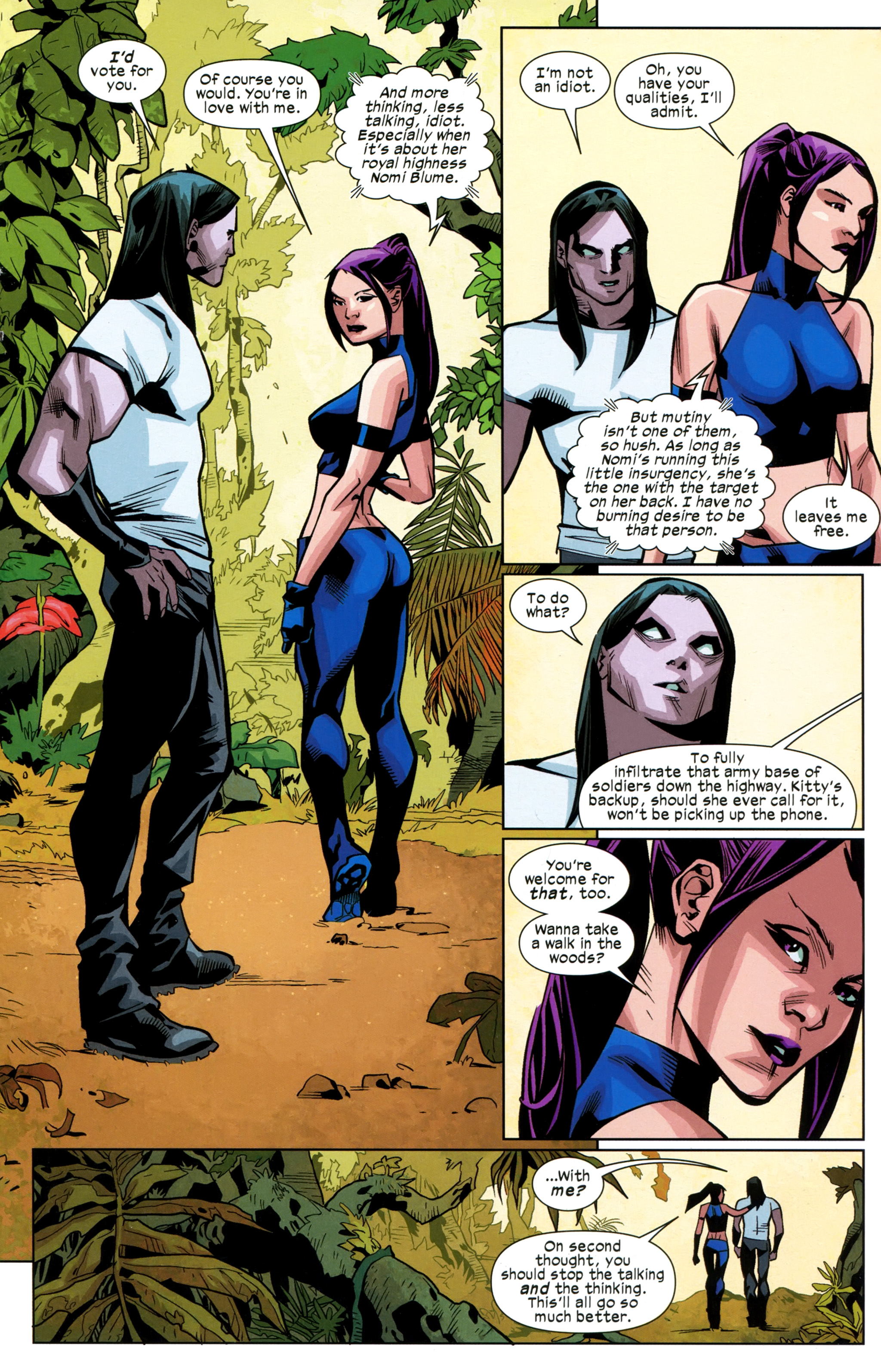 Read online Ultimate Comics X-Men comic -  Issue #24 - 12