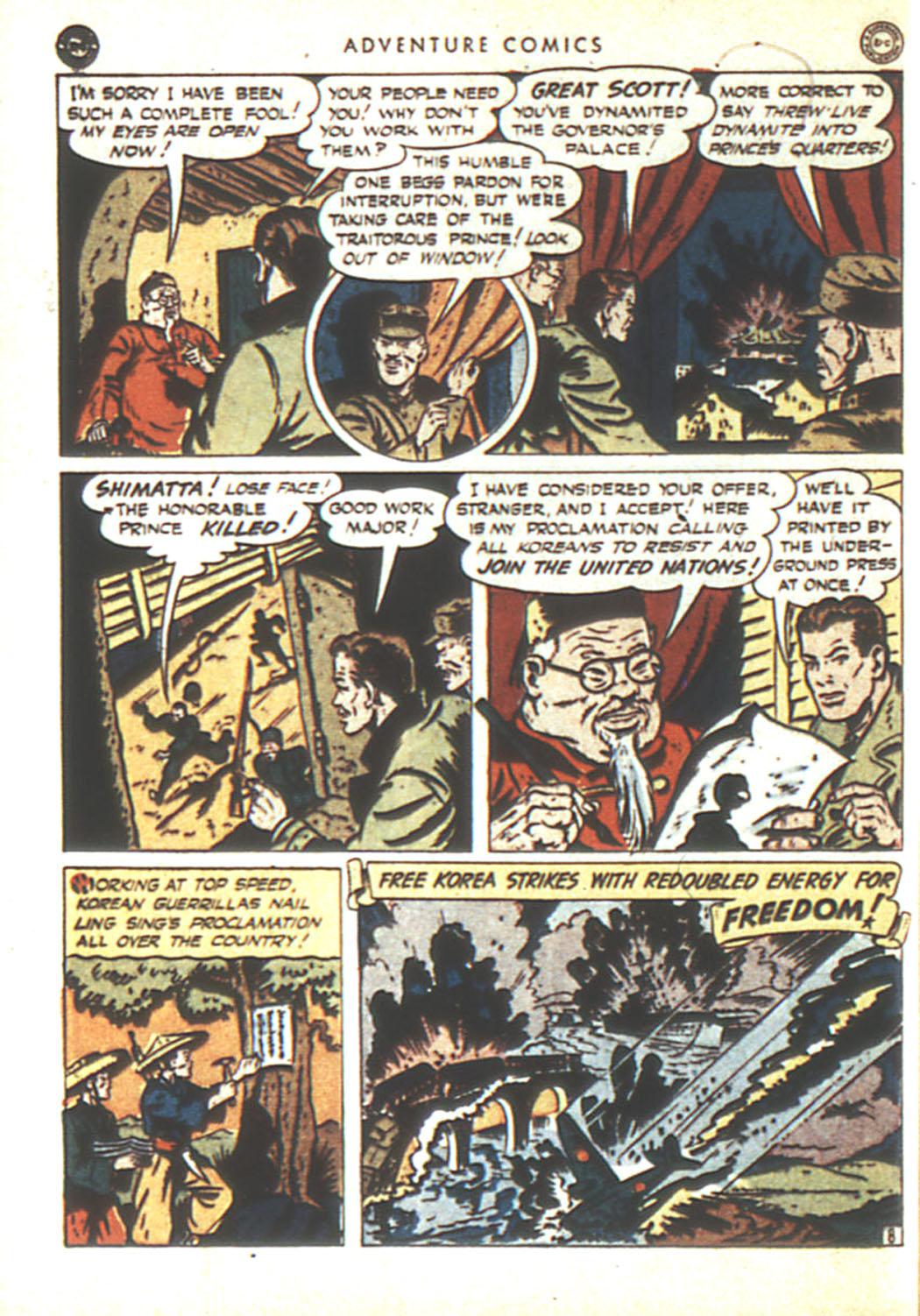 Read online Adventure Comics (1938) comic -  Issue #92 - 42
