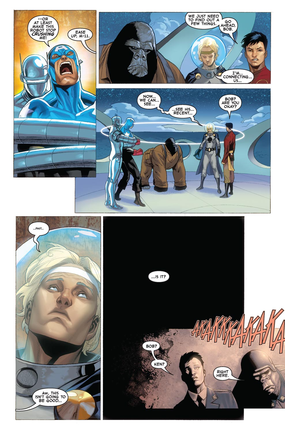 Read online Agents Of Atlas (2009) comic -  Issue #4 - 13