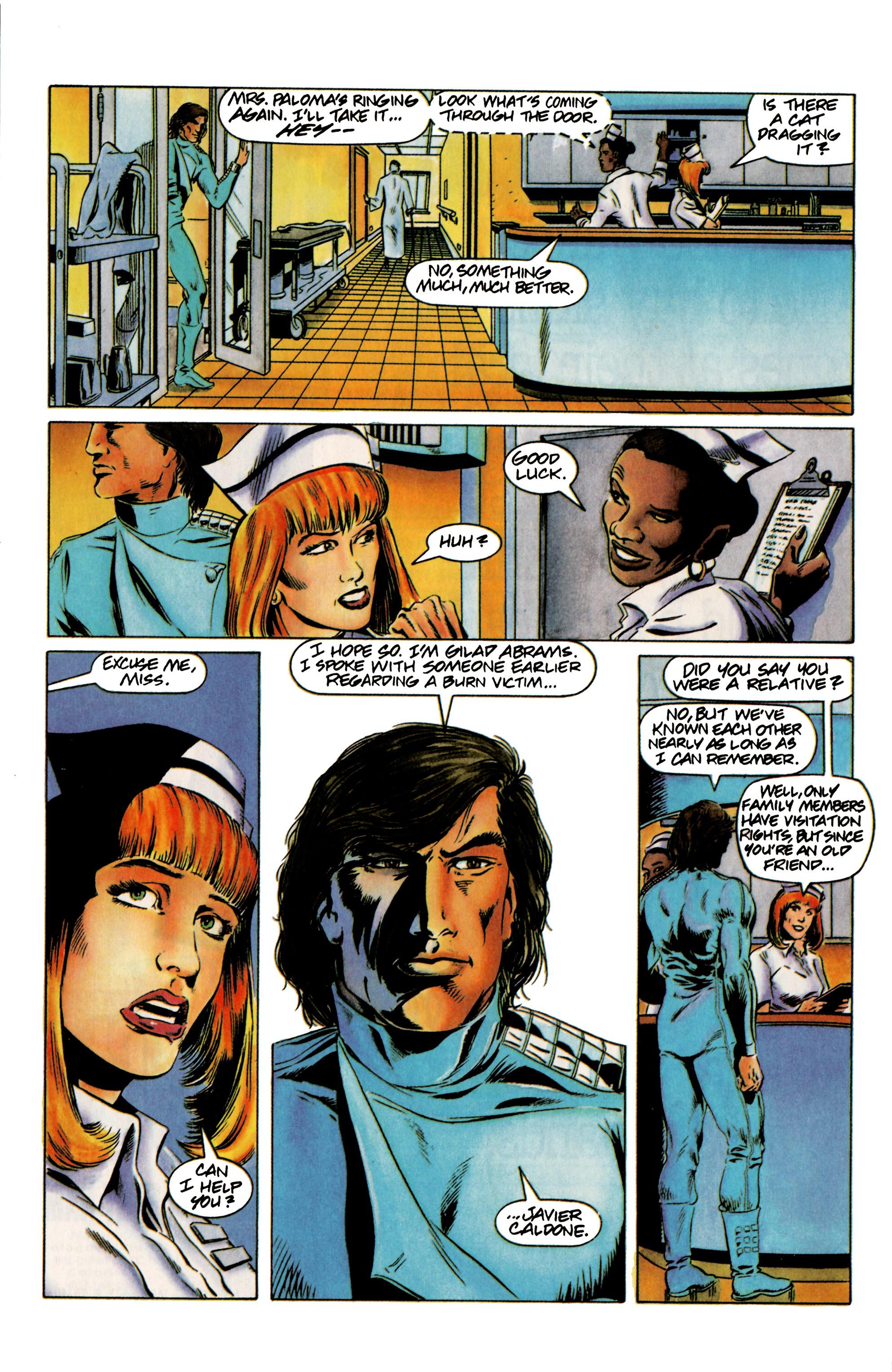Read online Eternal Warrior (1992) comic -  Issue #12 - 8