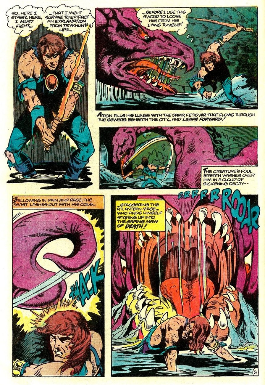 Read online Arion, Lord of Atlantis comic -  Issue #15 - 7