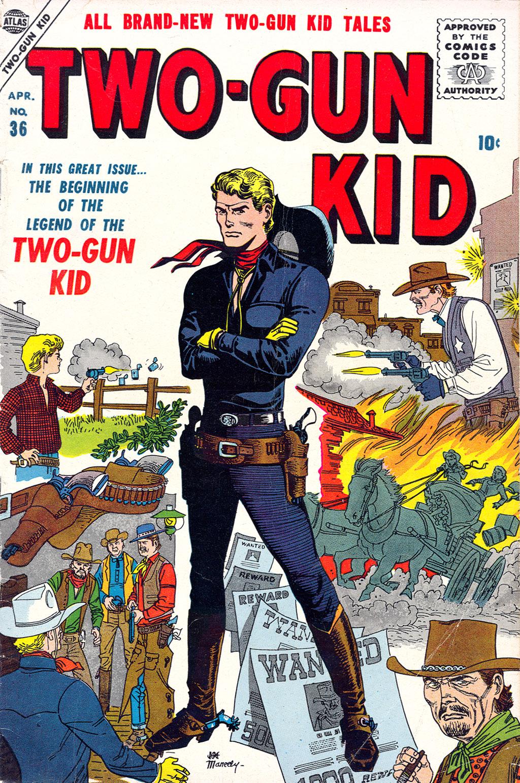 Read online Two-Gun Kid comic -  Issue #36 - 1