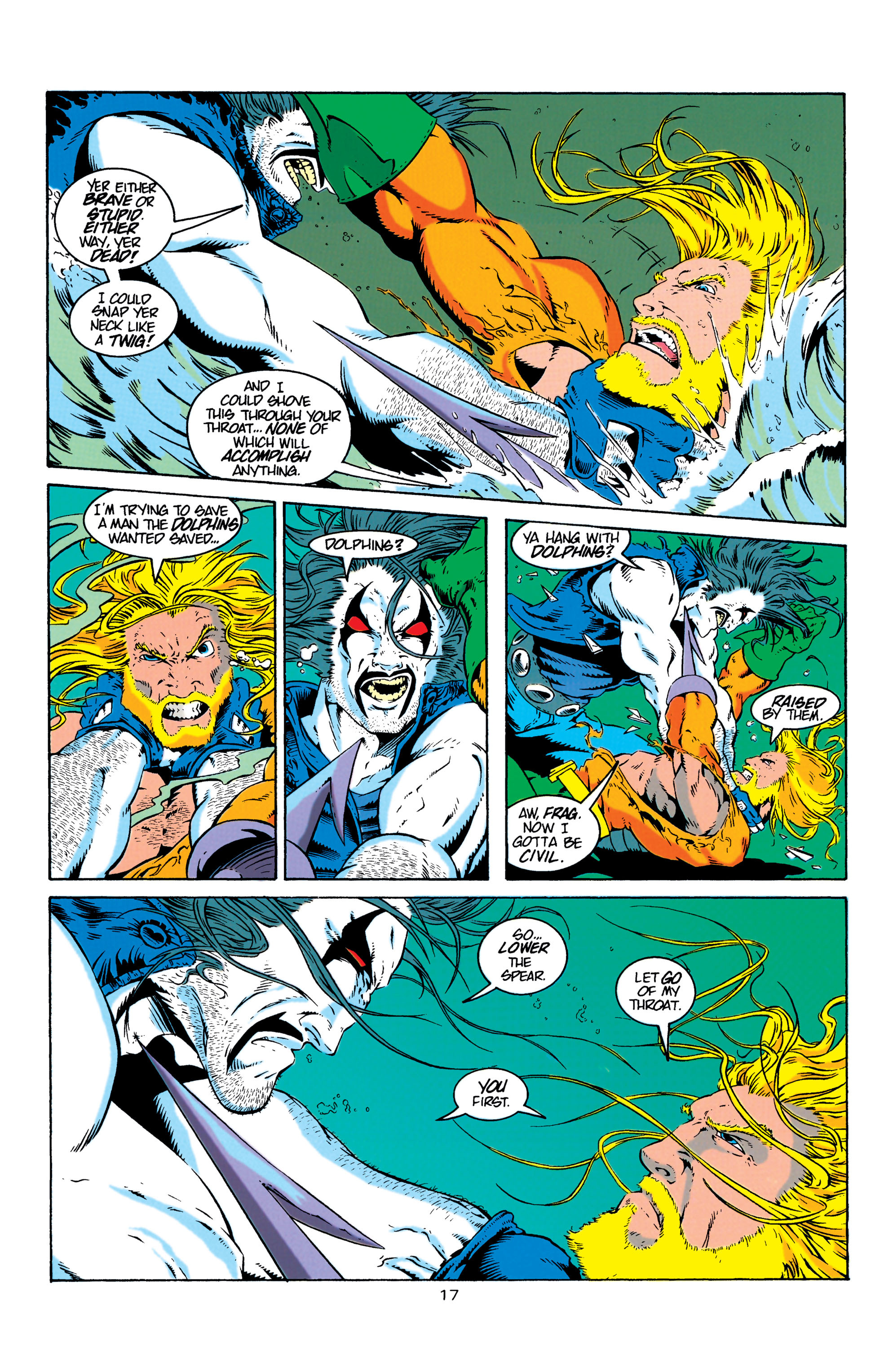 Read online Aquaman (1994) comic -  Issue #4 - 18