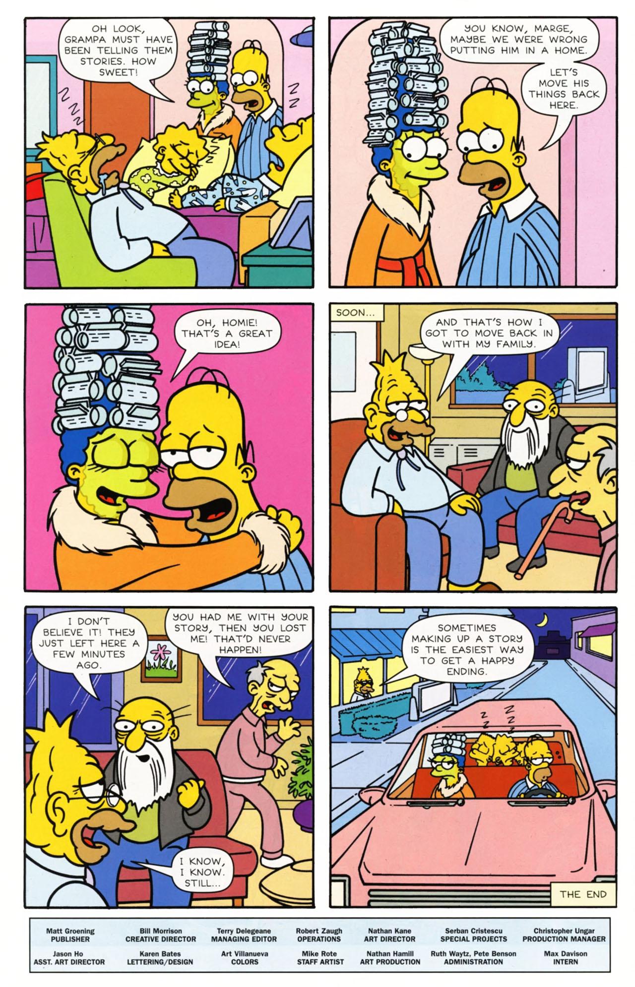 Read online Simpsons Comics comic -  Issue #168 - 27
