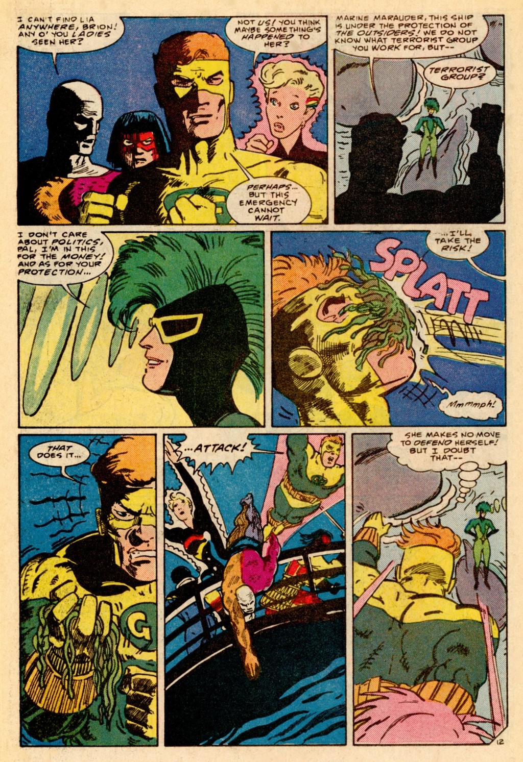 Read online Adventures of the Outsiders comic -  Issue #37 - 13
