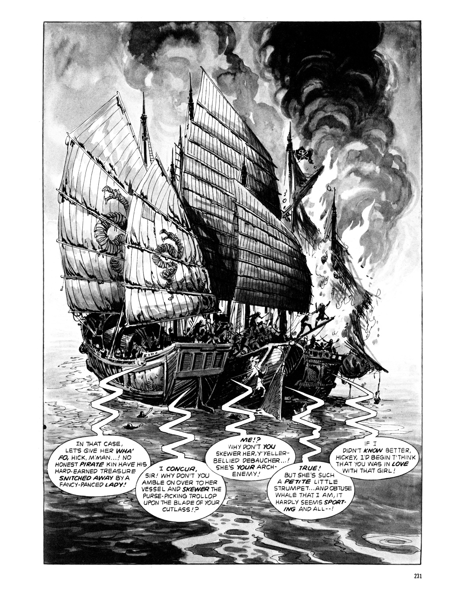 Read online Eerie Archives comic -  Issue # TPB 20 - 231