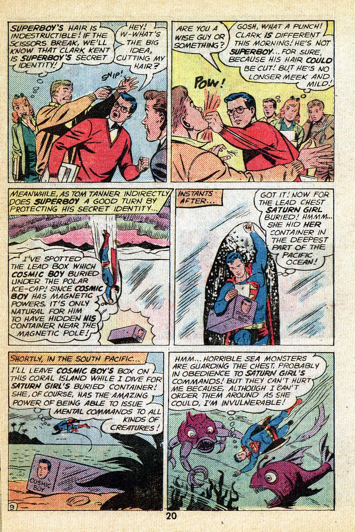 Read online Adventure Comics (1938) comic -  Issue #495 - 20