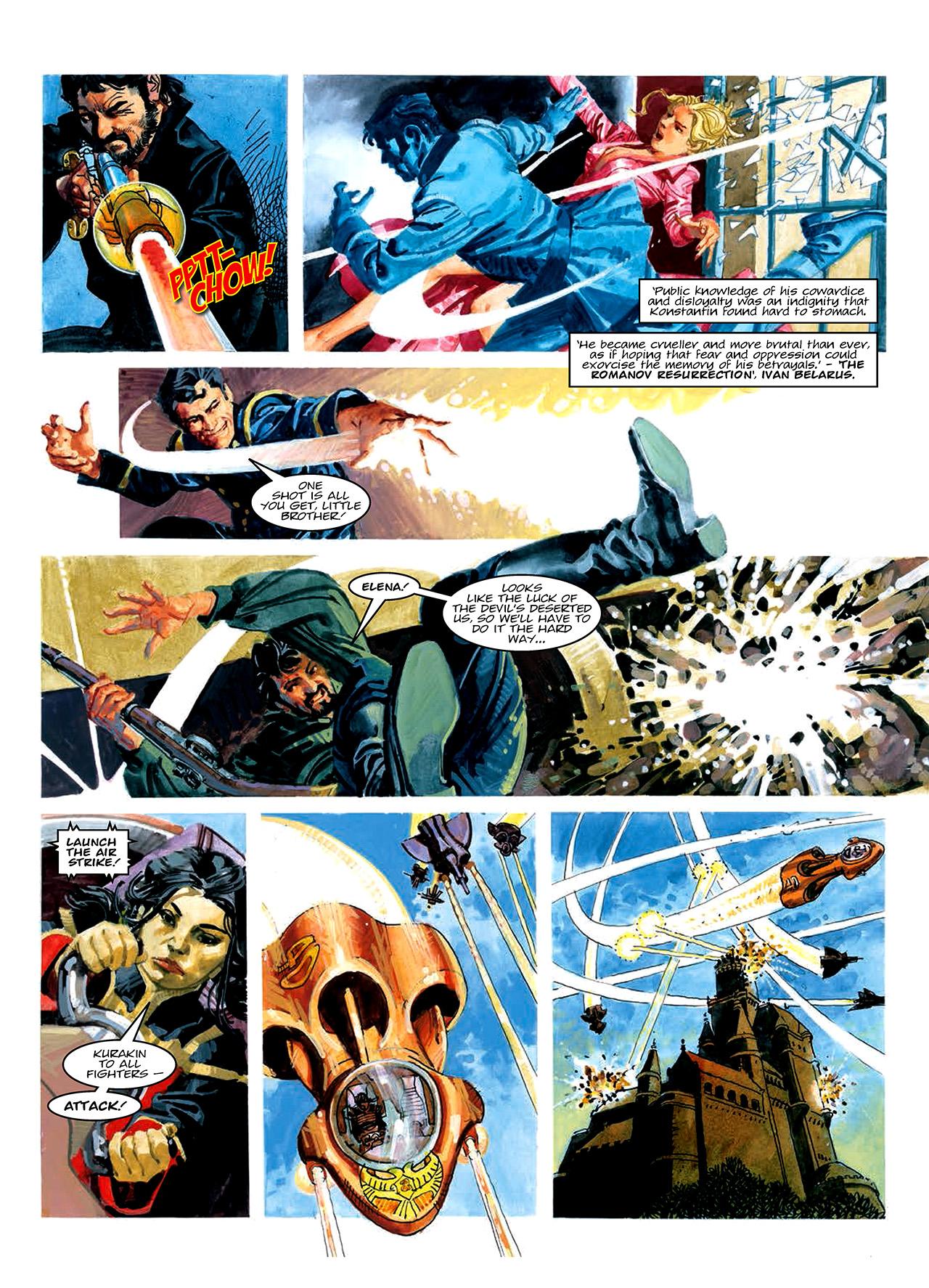 Read online Nikolai Dante comic -  Issue # TPB 10 - 167