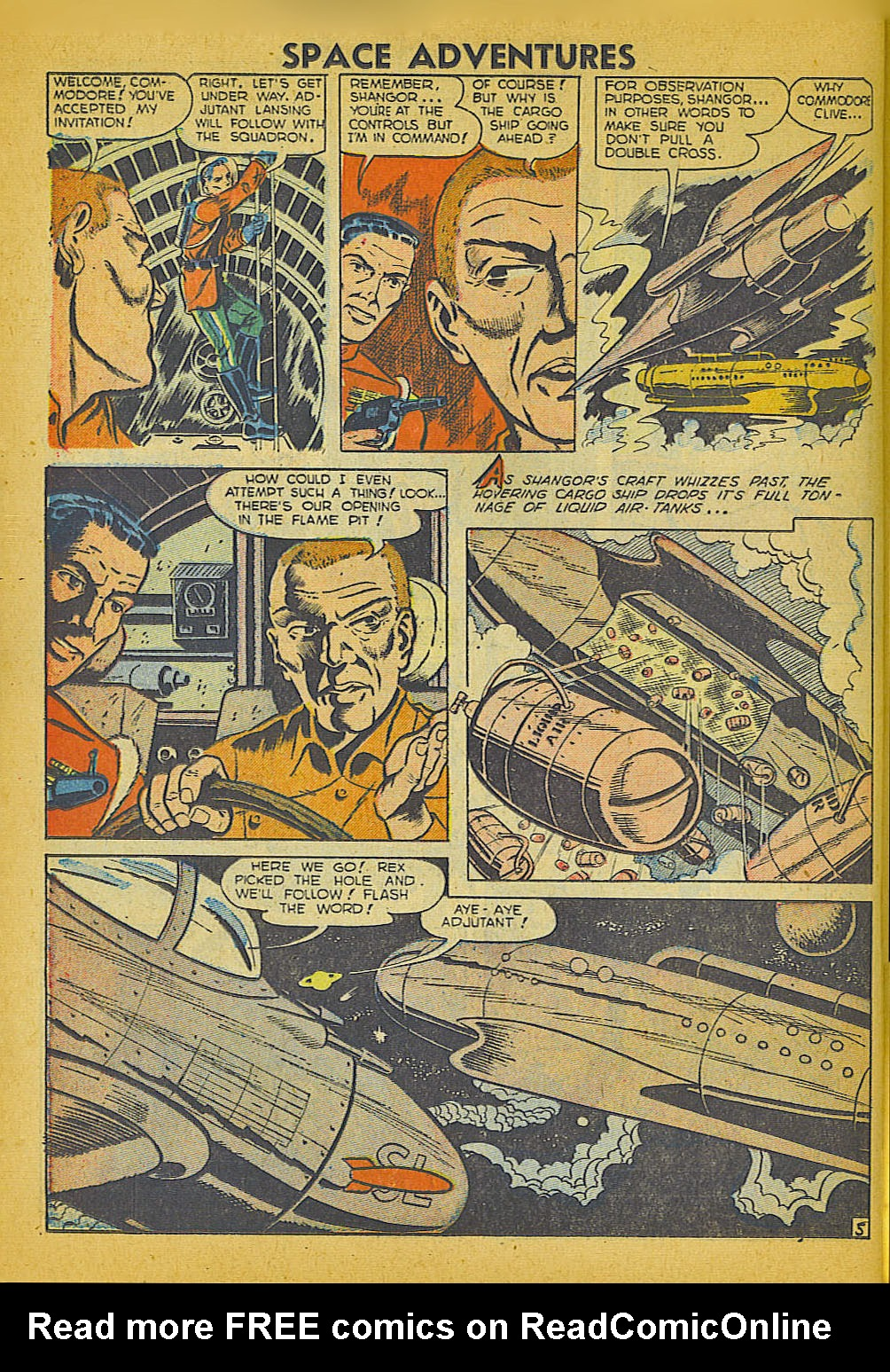 Space Adventures (1952) issue 3 - Page 23