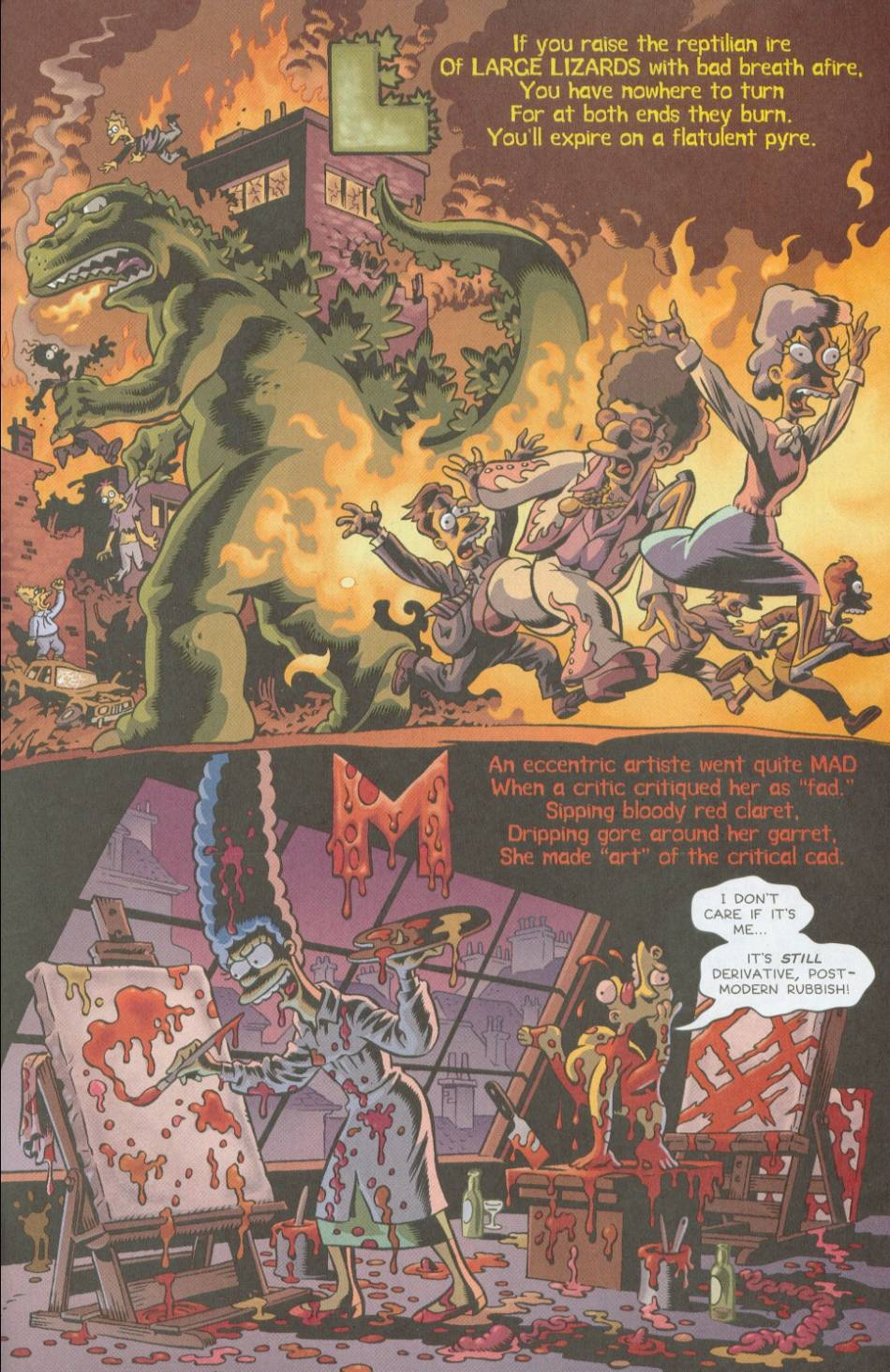 Read online Treehouse of Horror comic -  Issue #8 - 38
