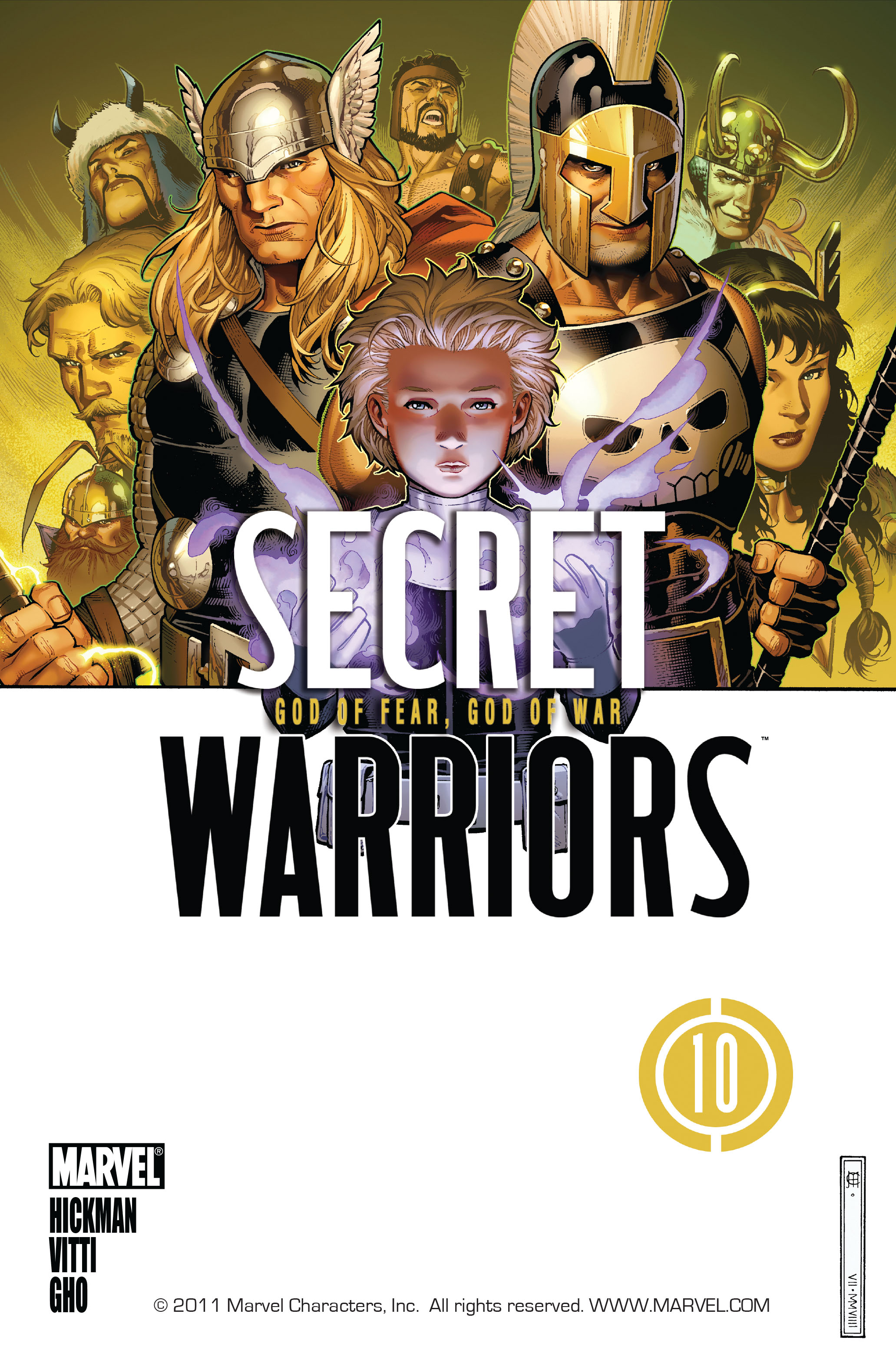 Read online Secret Warriors comic -  Issue #10 - 2