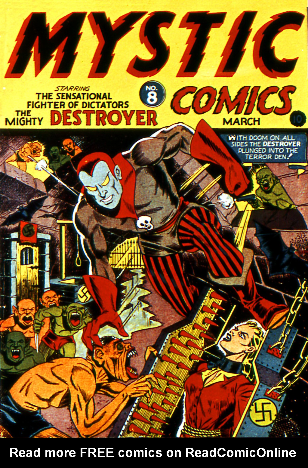 Mystic Comics (1940) issue 8 - Page 1