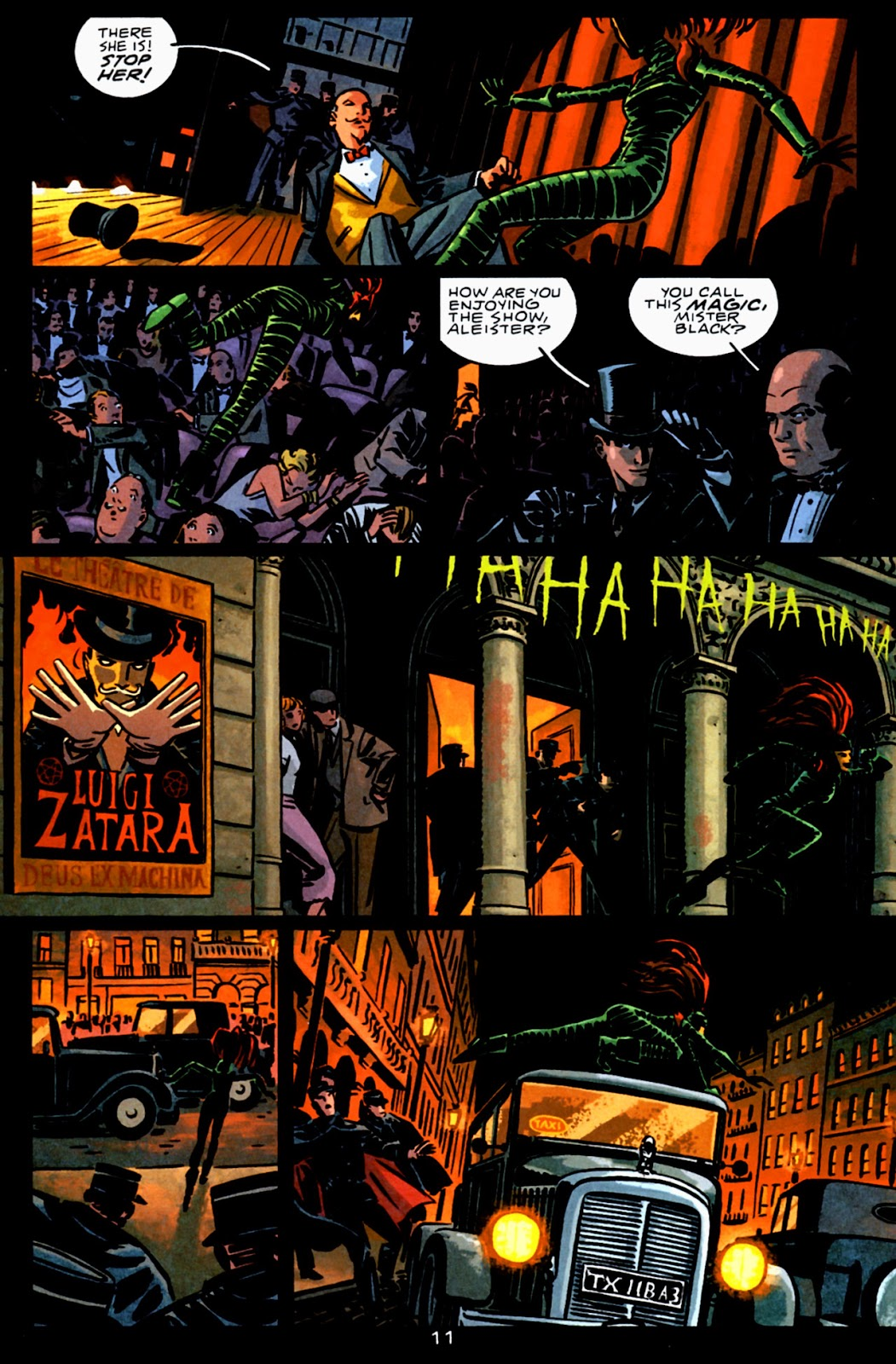 Read online Beware The Creeper (2003) comic -  Issue #3 - 11