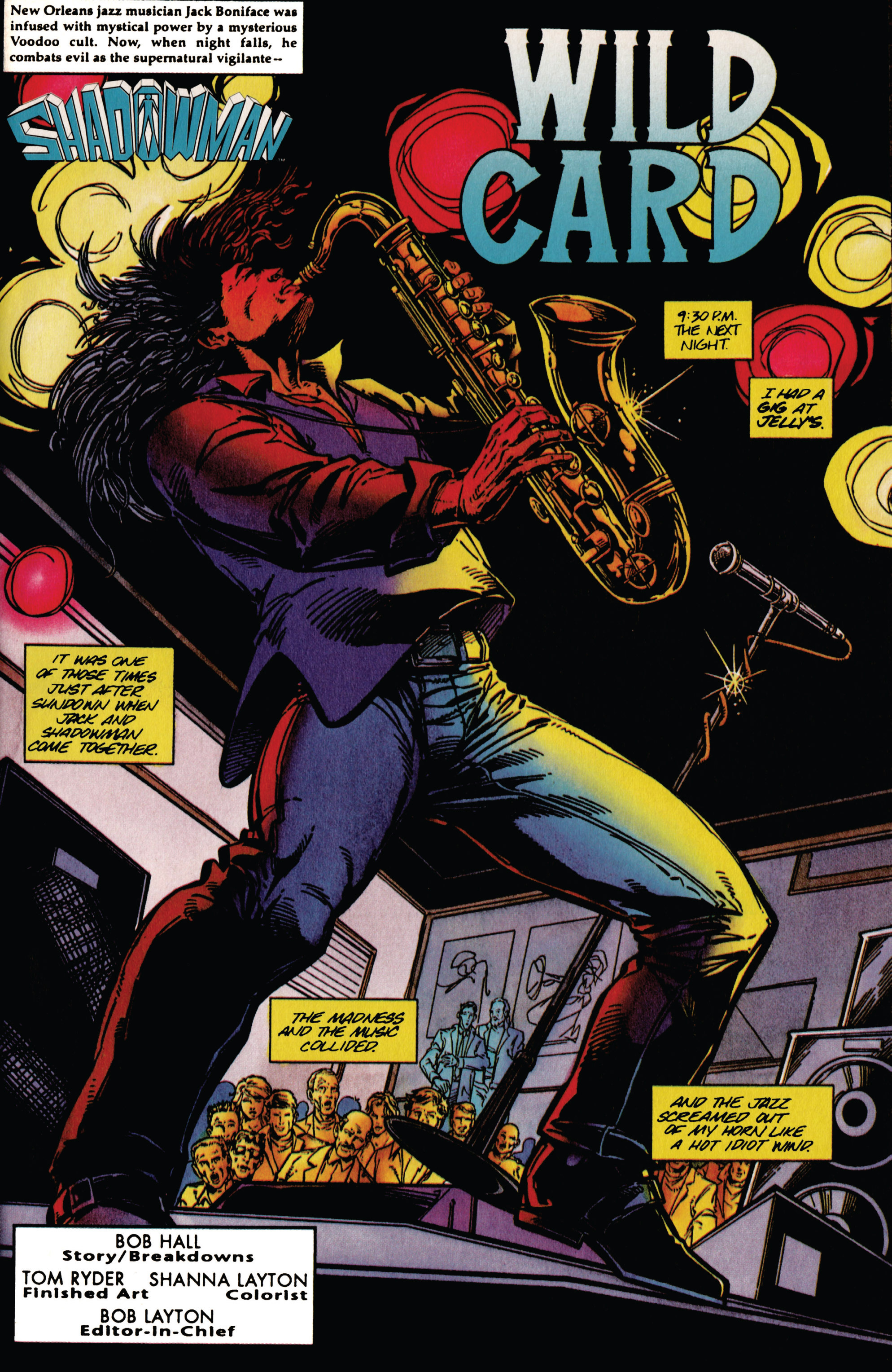 Read online Shadowman (1992) comic -  Issue #38 - 4