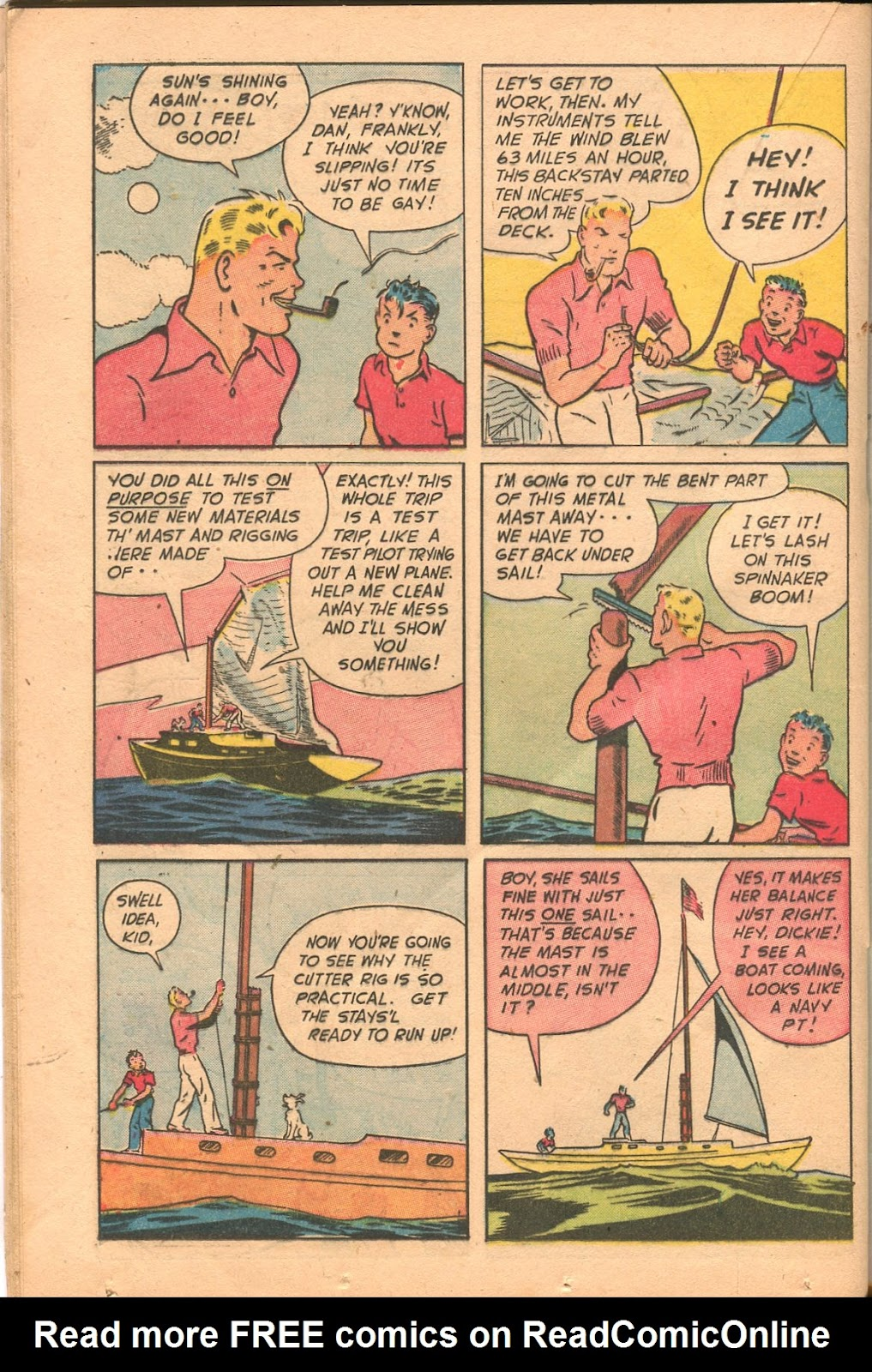 Read online Famous Funnies comic -  Issue #165 - 32