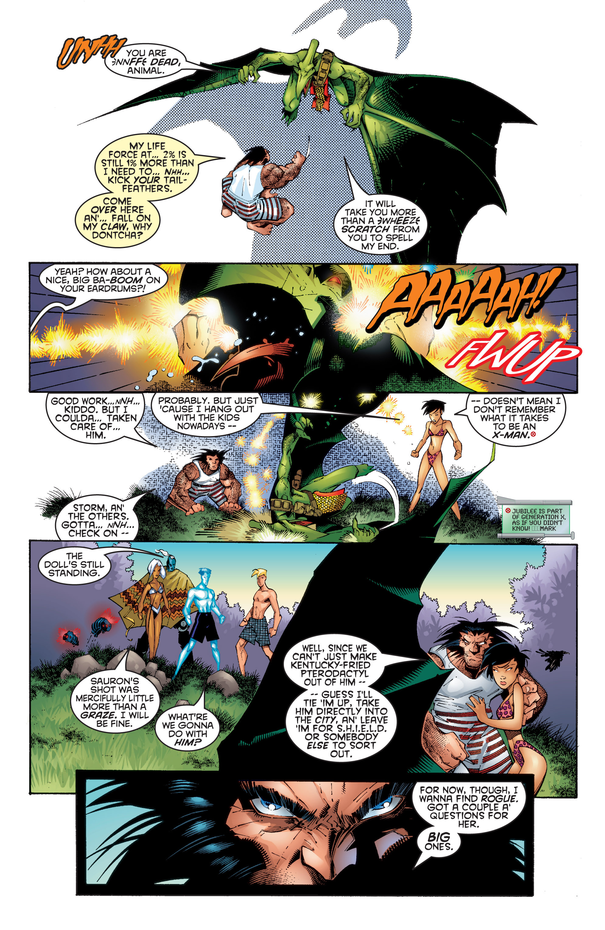 Read online Uncanny X-Men (1963) comic -  Issue #354 - 21