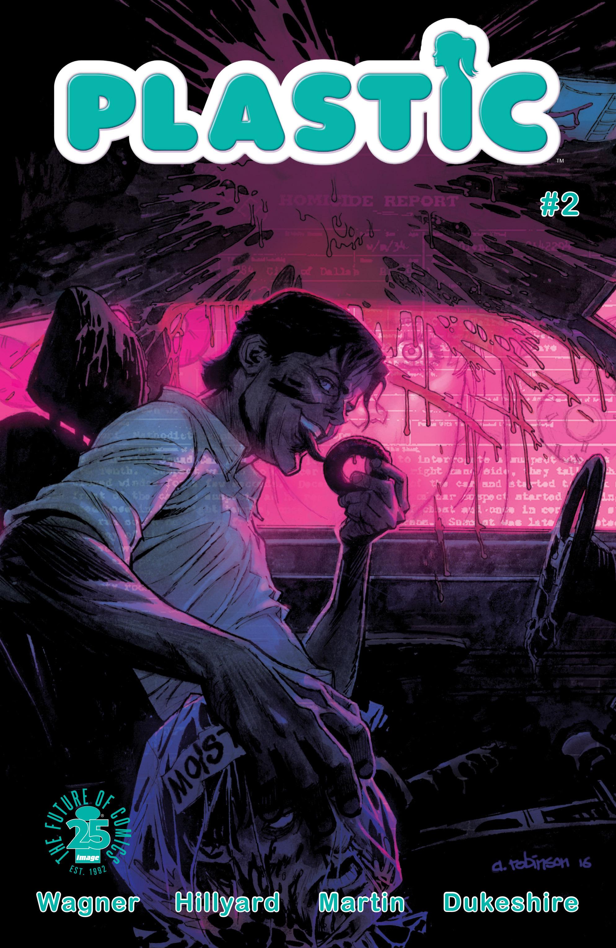 Read online Plastic comic -  Issue #2 - 1