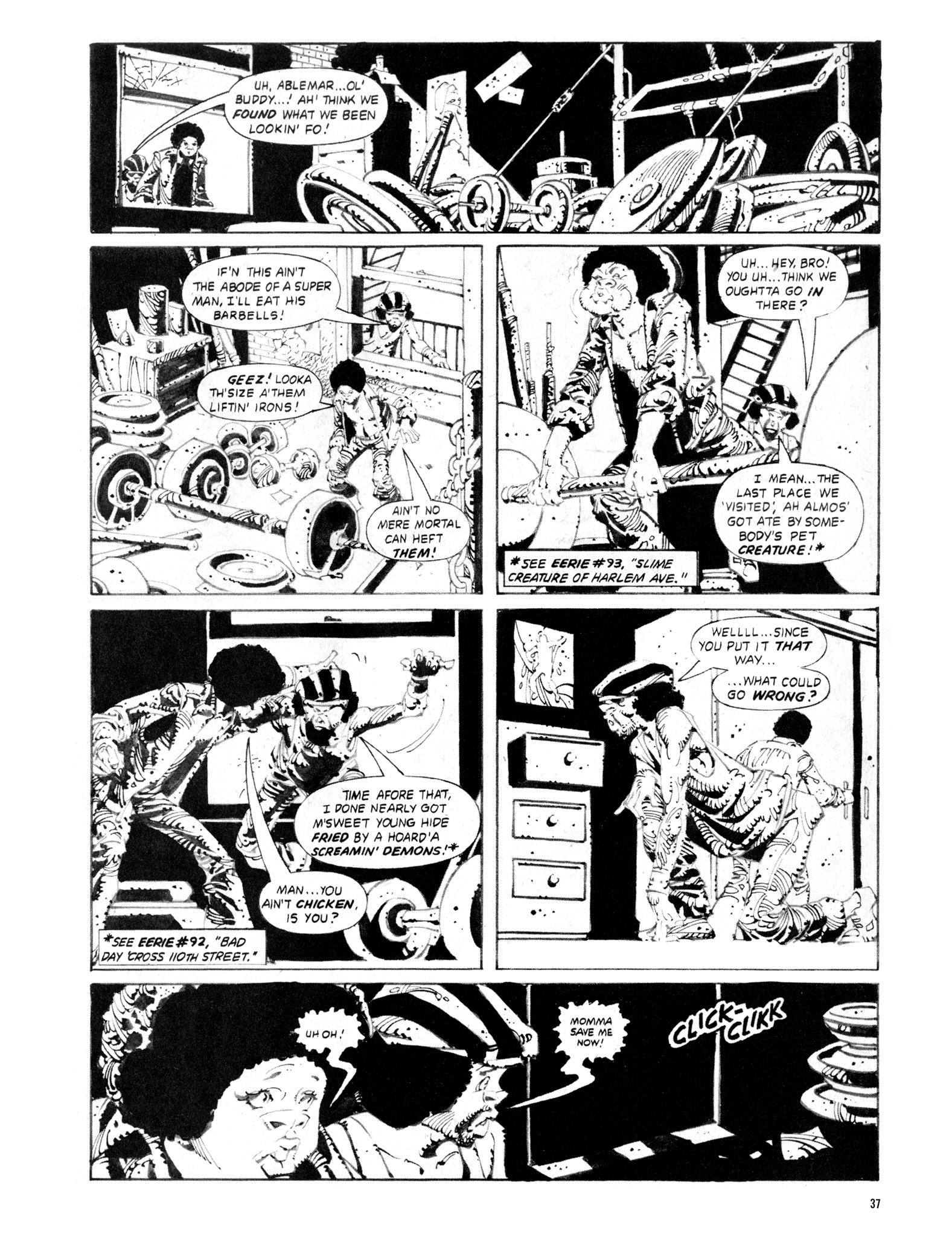 Read online Eerie Archives comic -  Issue # TPB 20 - 37