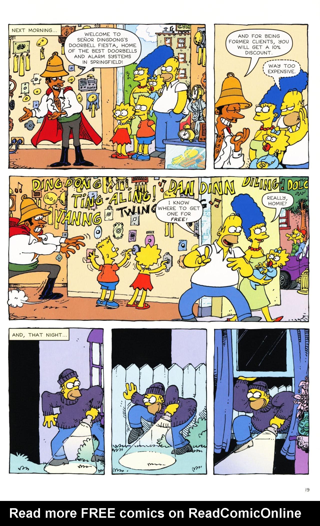 Read online Simpsons Comics comic -  Issue #163 - 16