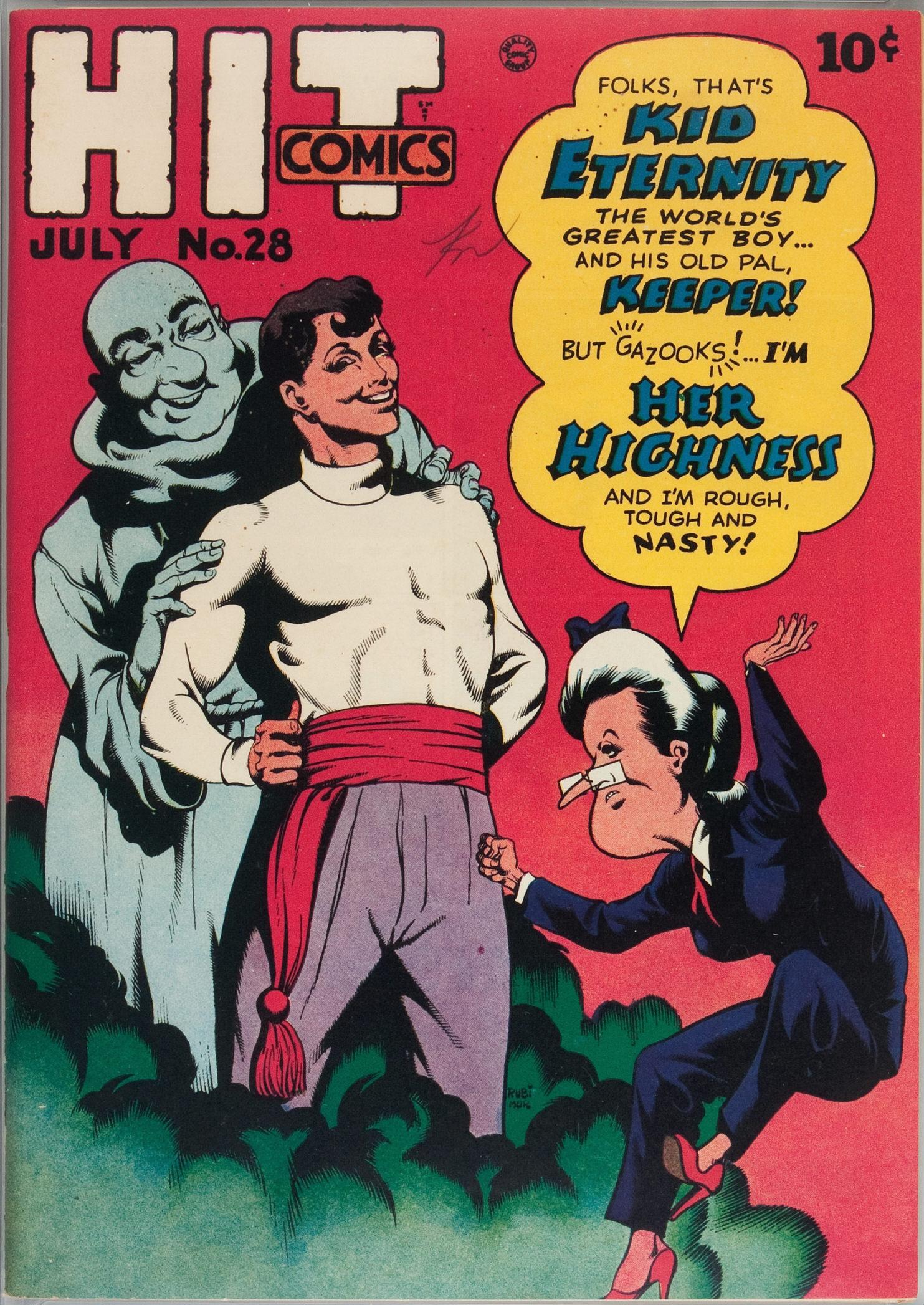 Read online Hit Comics comic -  Issue #28 - 2