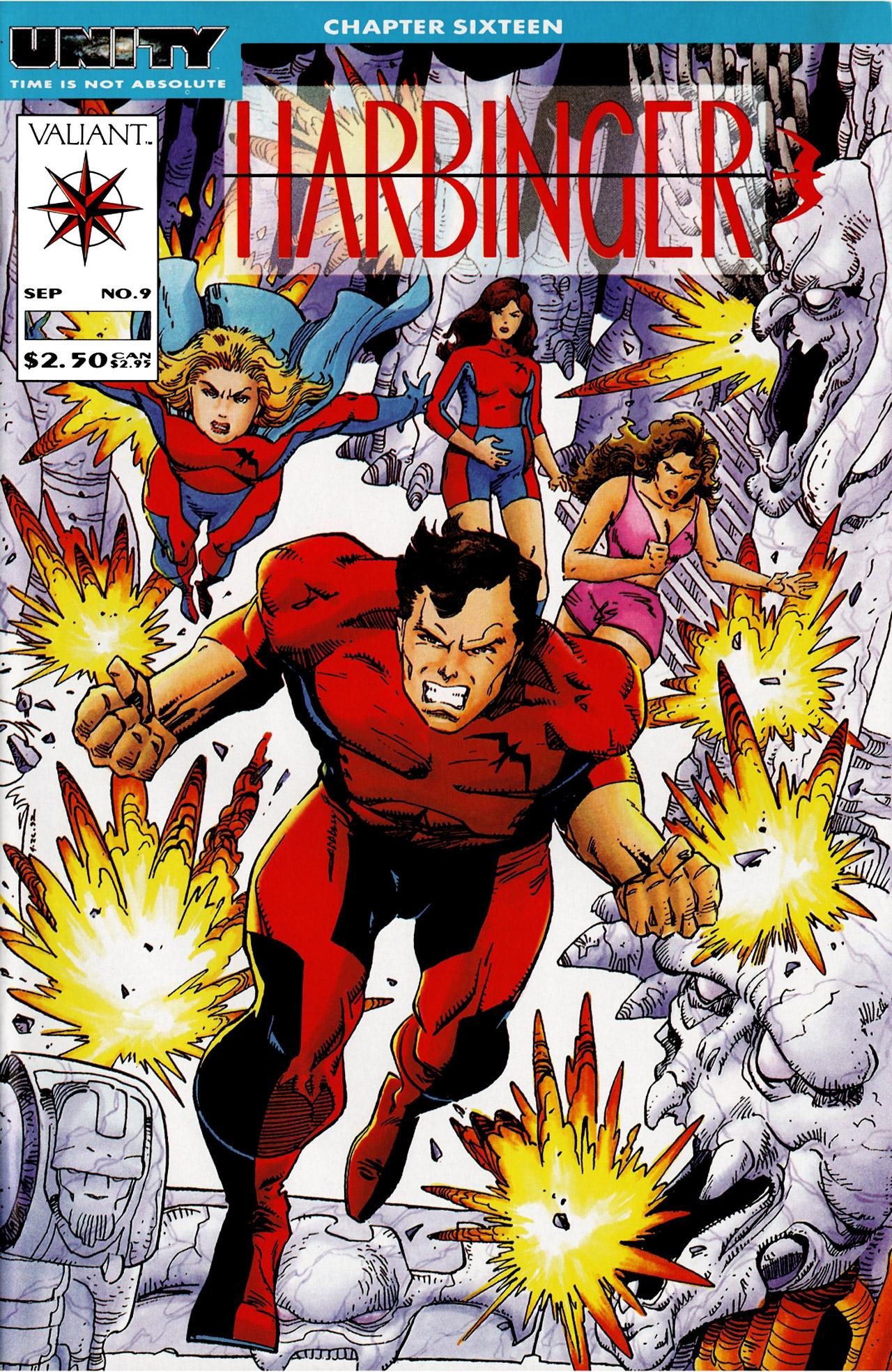 Read online Harbinger (1992) comic -  Issue #9 - 1