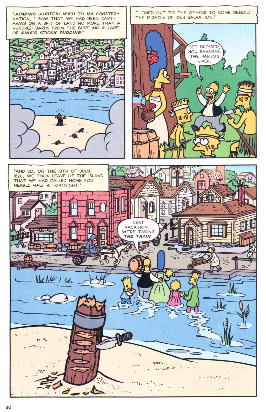 Read online Simpsons Comics comic -  Issue #127 - 25