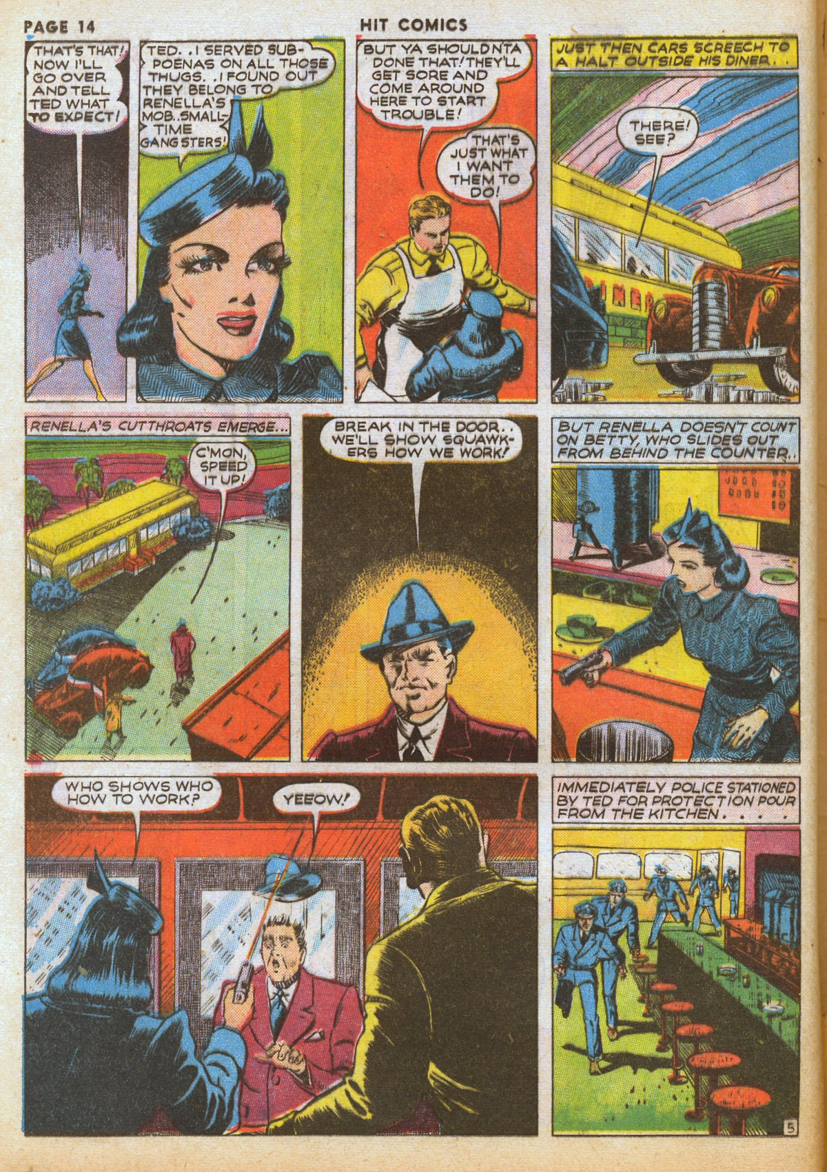 Read online Hit Comics comic -  Issue #12 - 16
