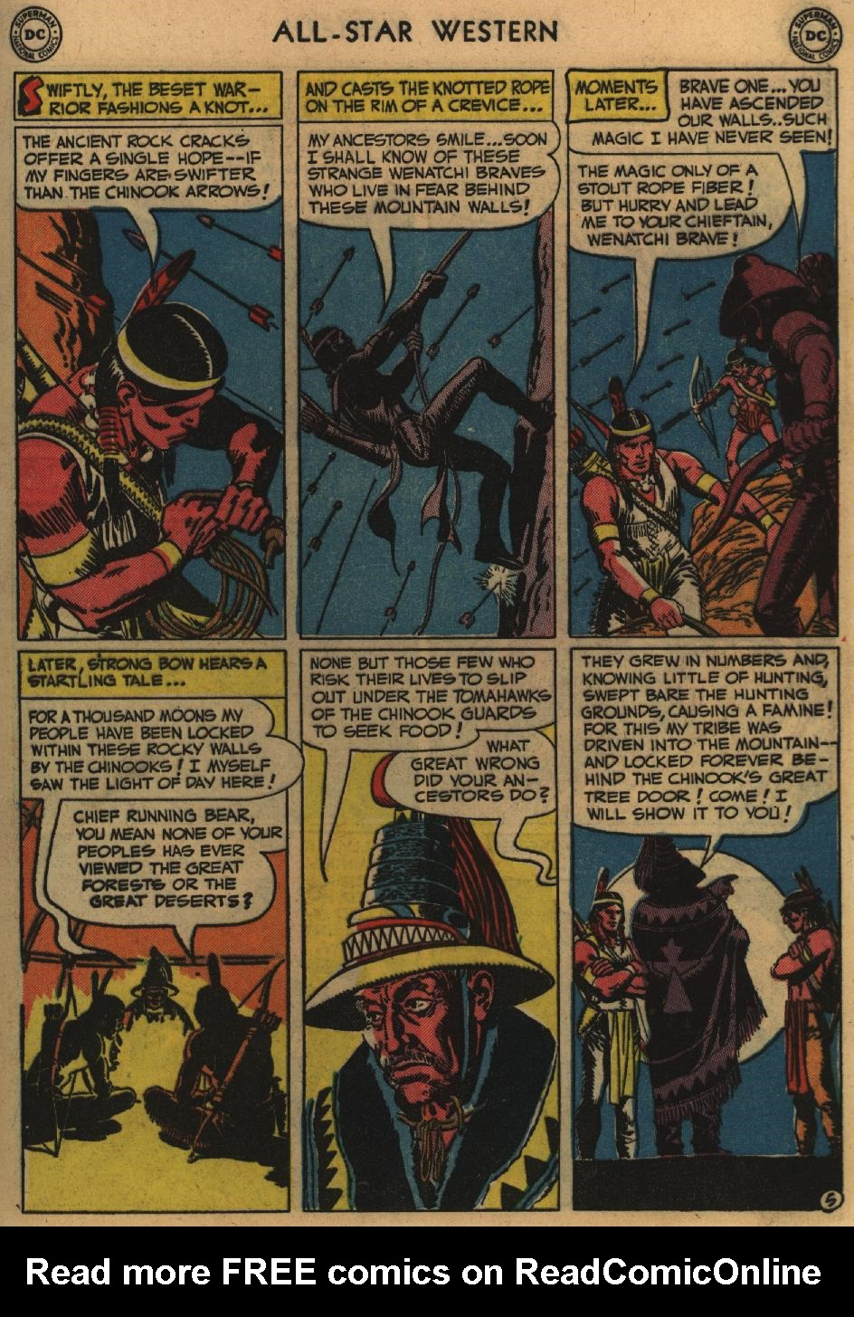 Read online All-Star Western (1951) comic -  Issue #60 - 43