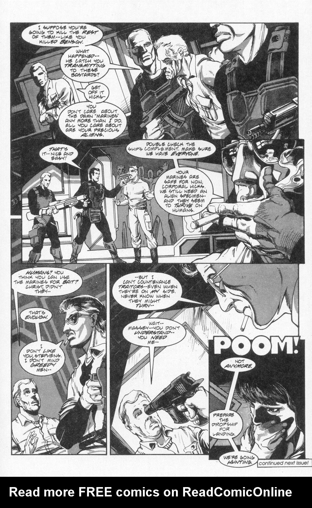 Read online Aliens (1988) comic -  Issue #4 - 27