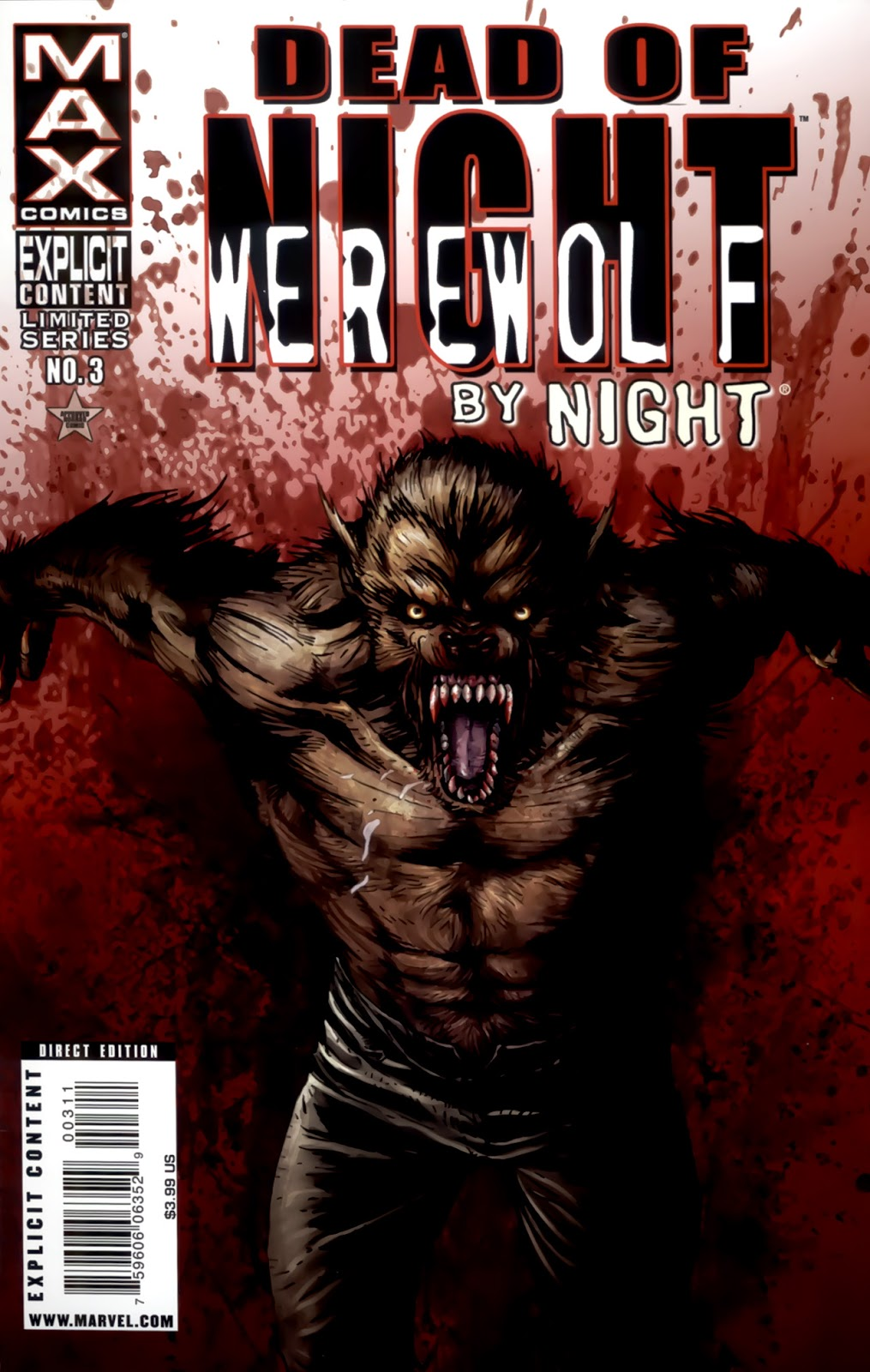 Dead of Night Featuring Werewolf by Night issue 3 - Page 1