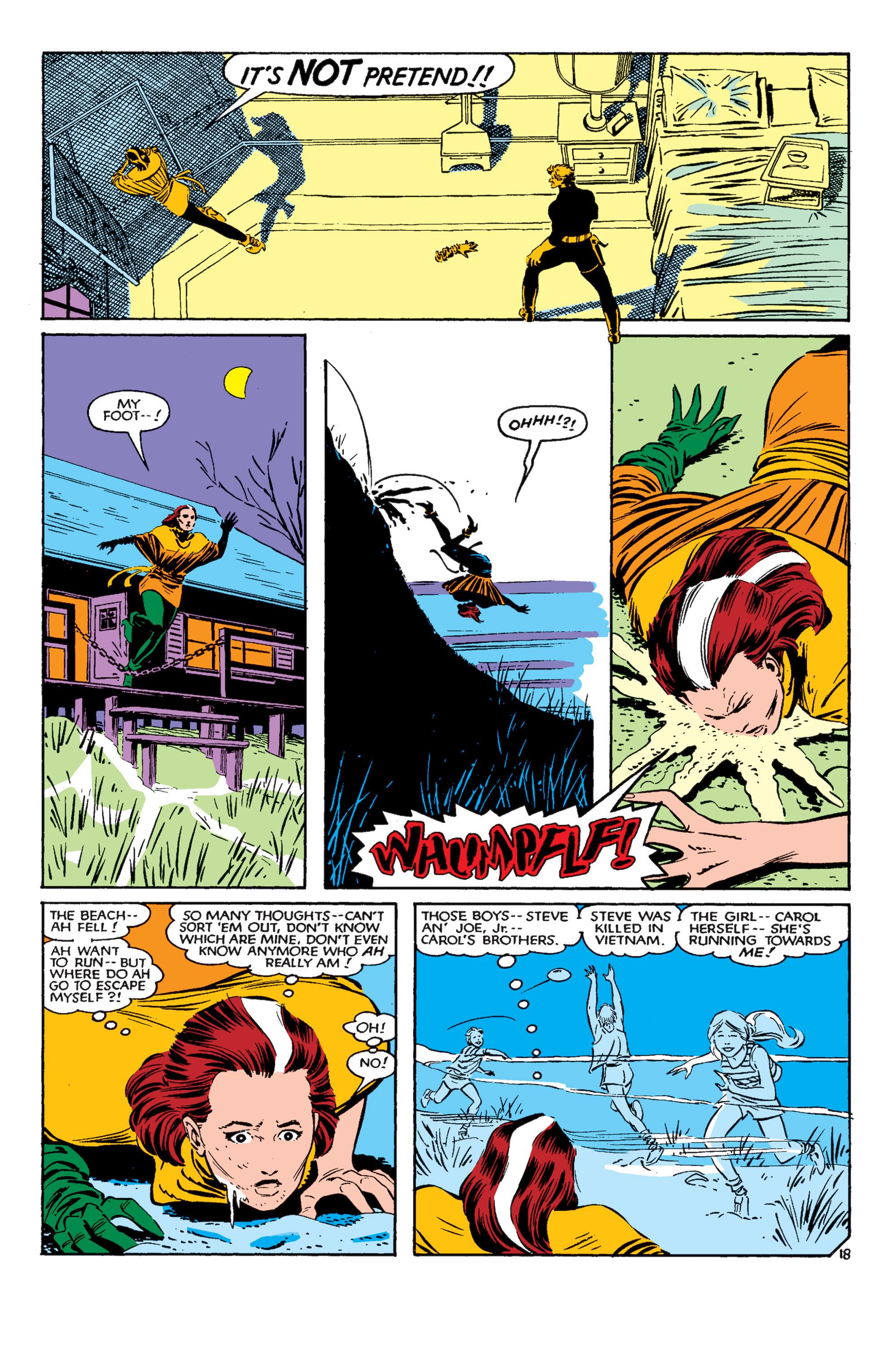 Read online Uncanny X-Men (1963) comic -  Issue #182 - 19