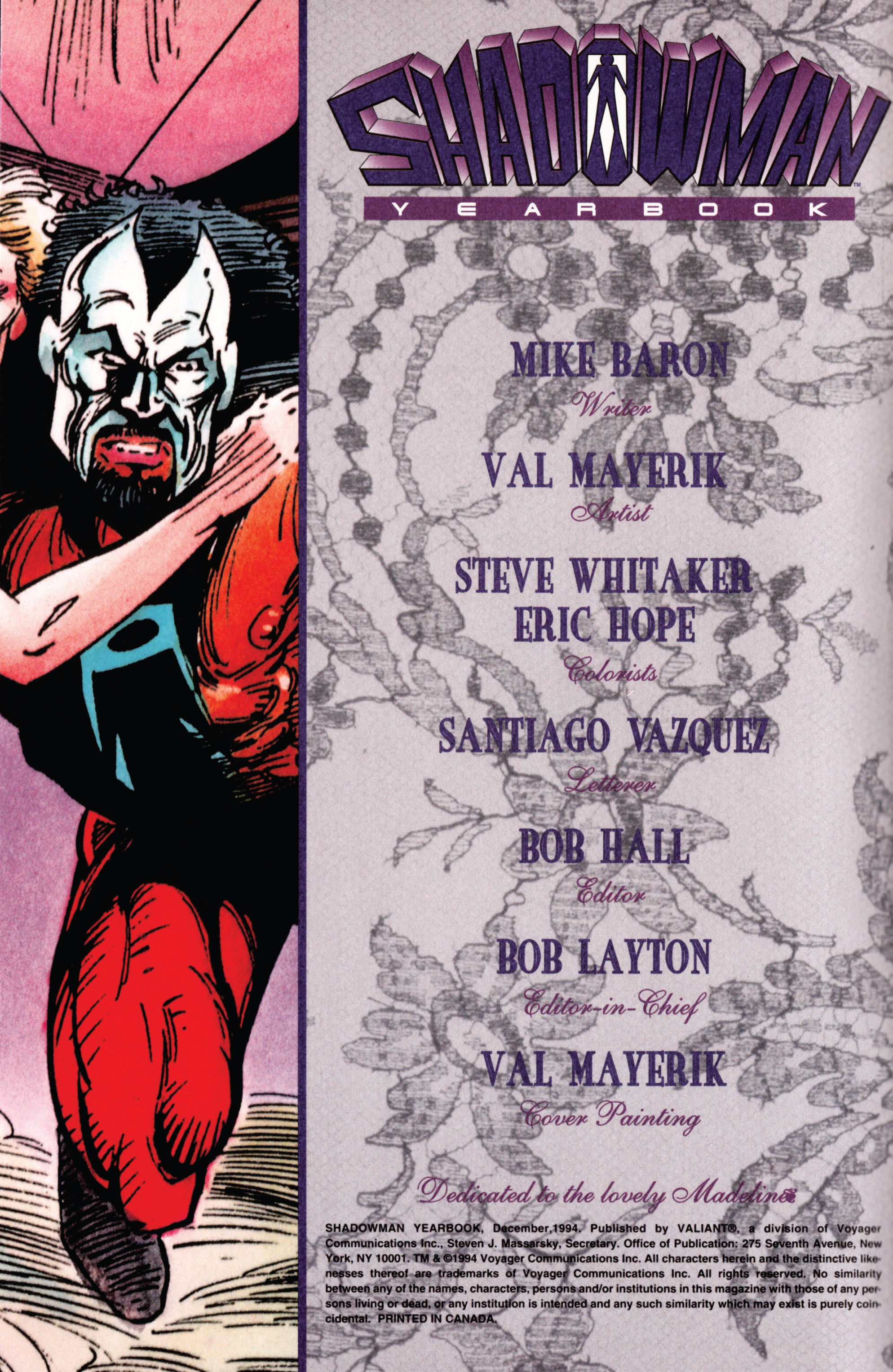 Read online Shadowman (1992) comic -  Issue # _TPB 1 - 2