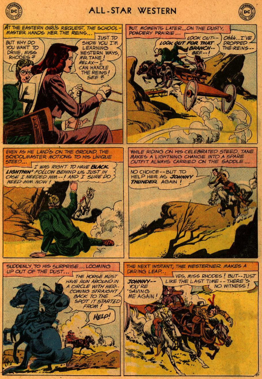 Read online All-Star Western (1951) comic -  Issue #107 - 8