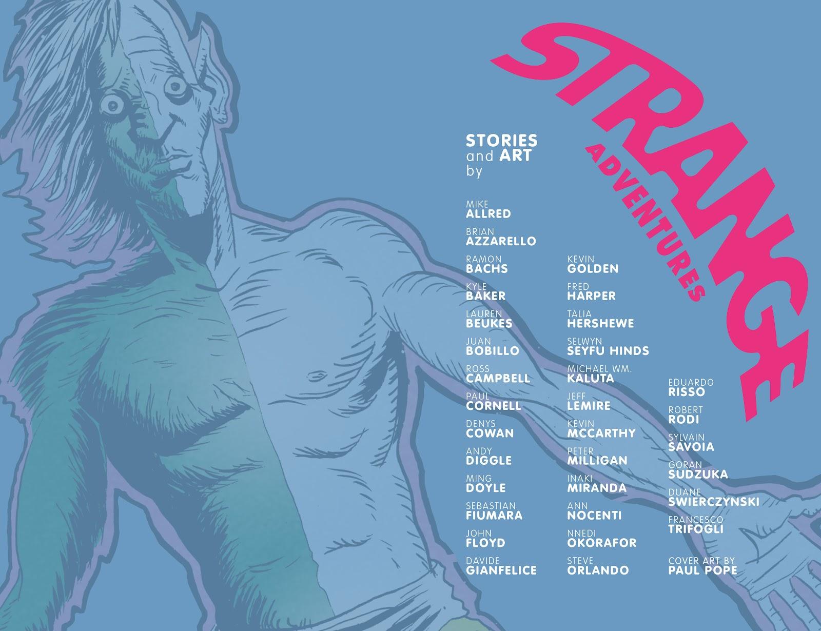 Read online Strange Adventures (2014) comic -  Issue # TPB (Part 1) - 3