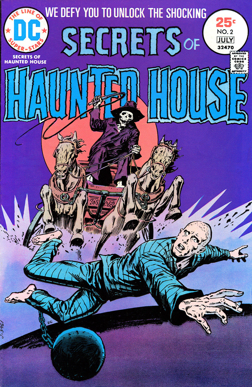Read online Secrets of Haunted House comic -  Issue #2 - 1