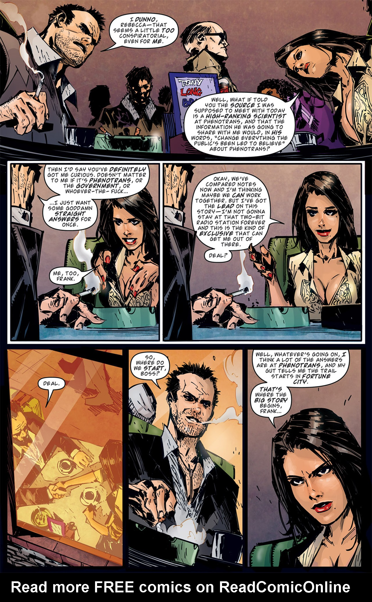 Read online Dead Rising: Road to Fortune comic -  Issue # TPB - 49