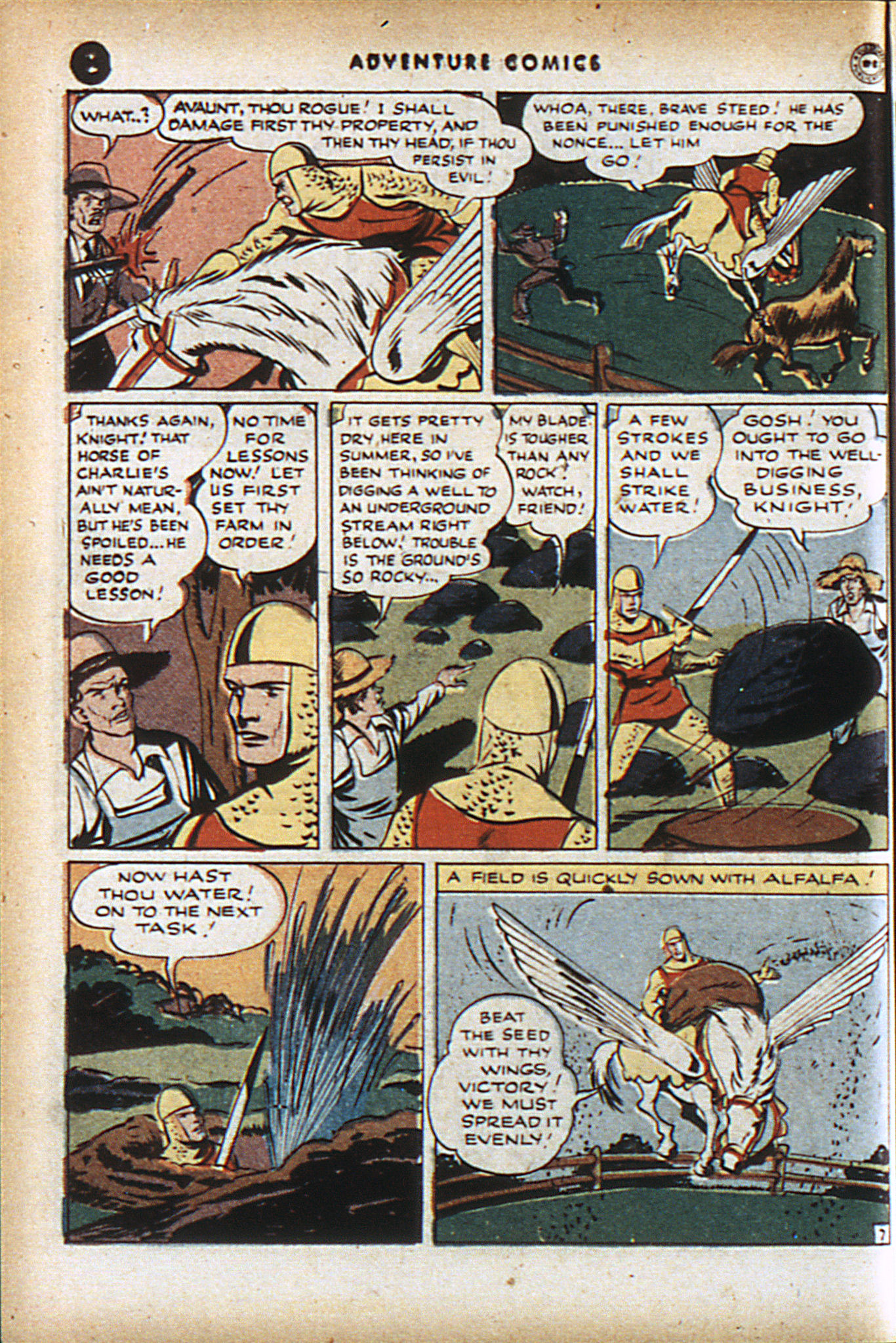 Read online Adventure Comics (1938) comic -  Issue #95 - 21