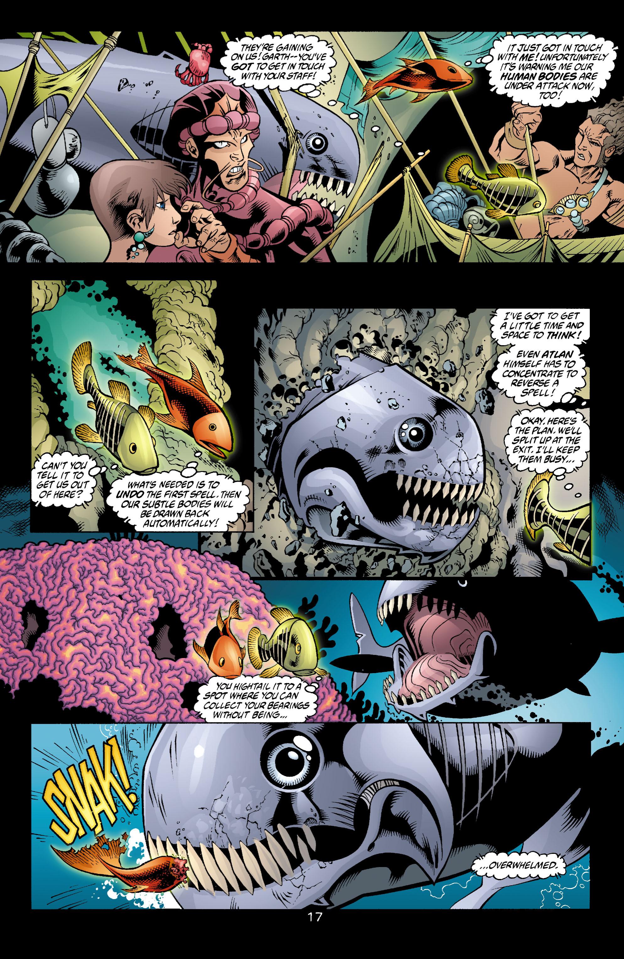 Read online Aquaman (2003) comic -  Issue #4 - 18