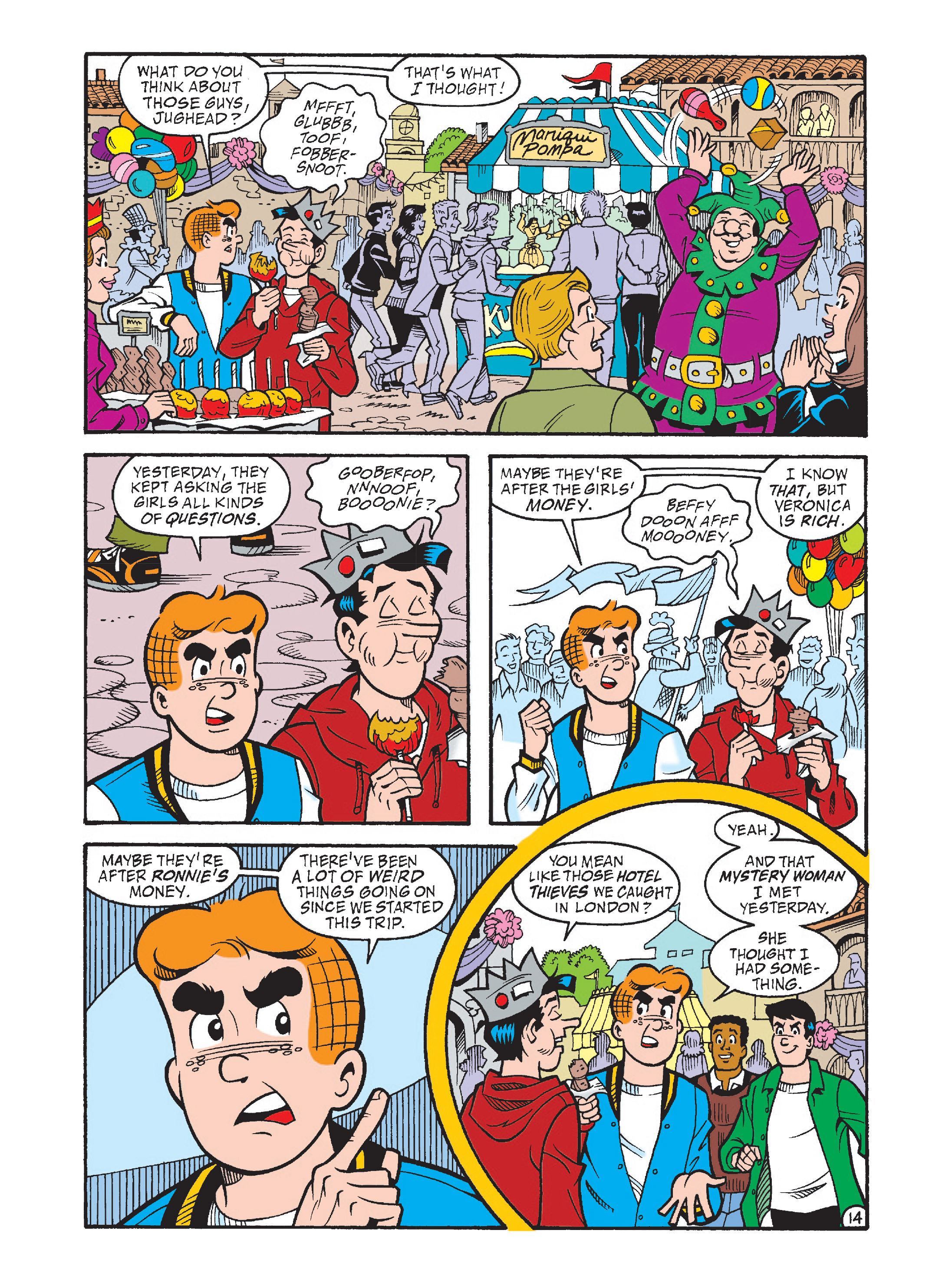 Read online Archie's Funhouse Double Digest comic -  Issue #2 - 49