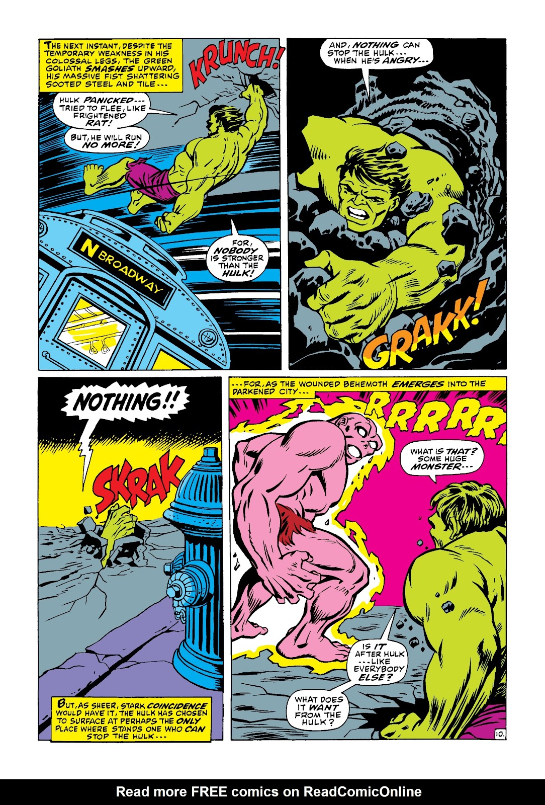 Read online Marvel Masterworks: The Incredible Hulk comic -  Issue # TPB 4 (Part 1) - 59