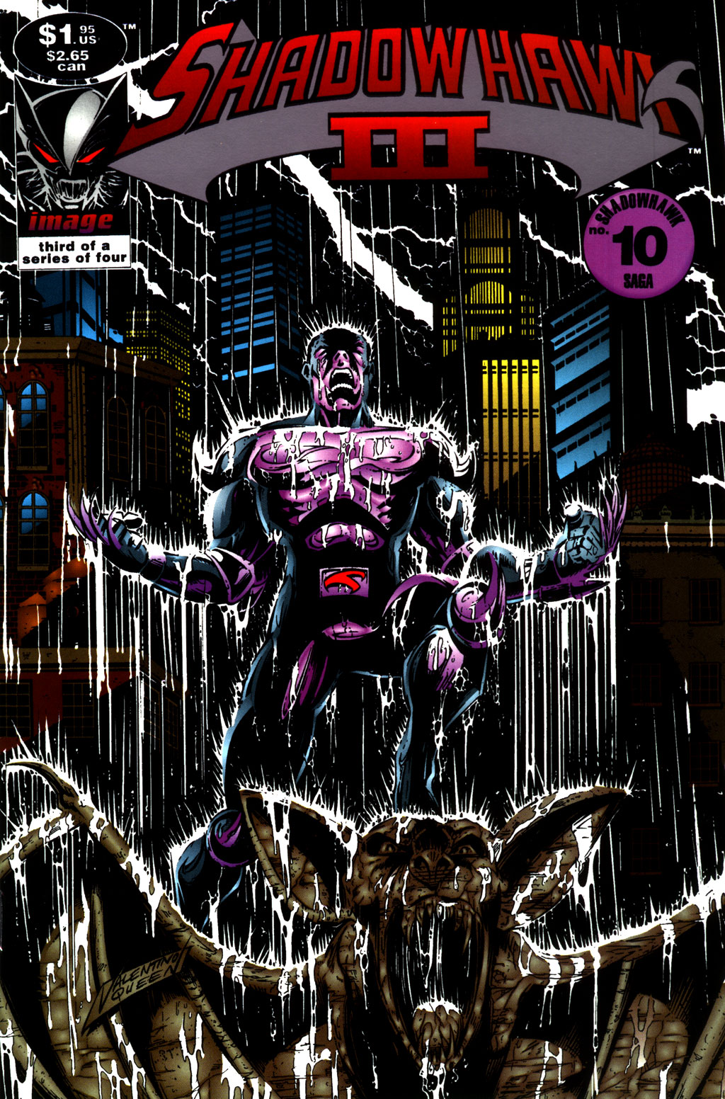 Read online ShadowHawk comic -  Issue #10 - 1