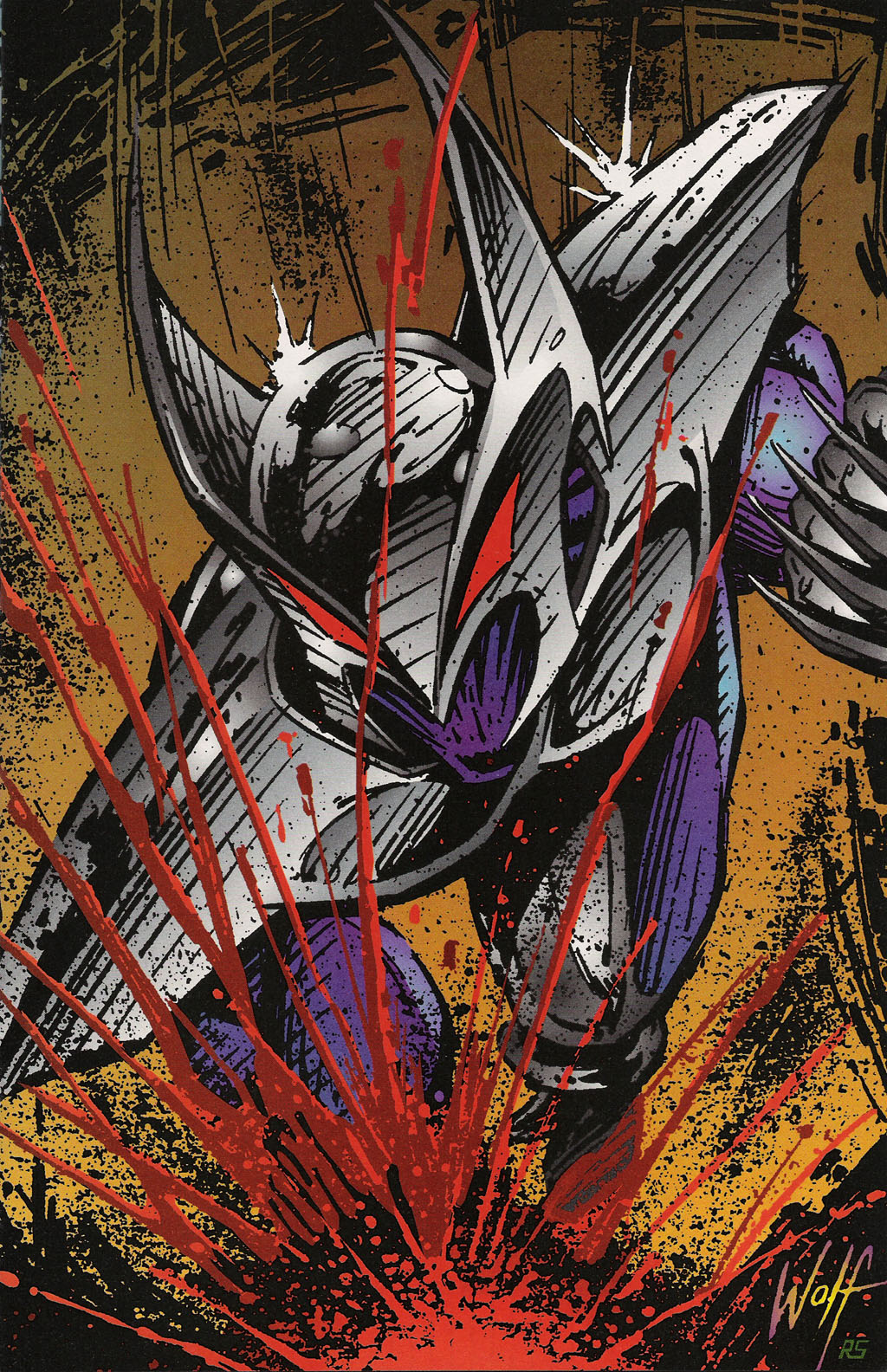 Read online ShadowHawk Gallery comic -  Issue # Full - 5
