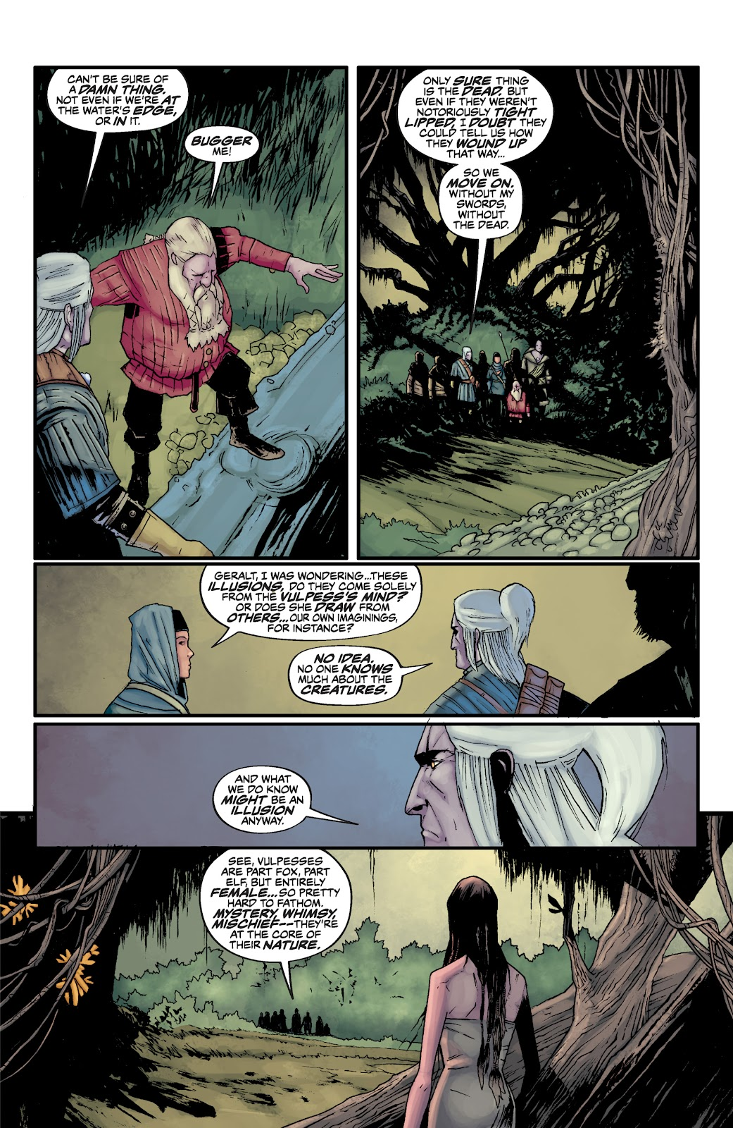 Read online The Witcher Omnibus comic -  Issue # TPB (Part 2) - 85