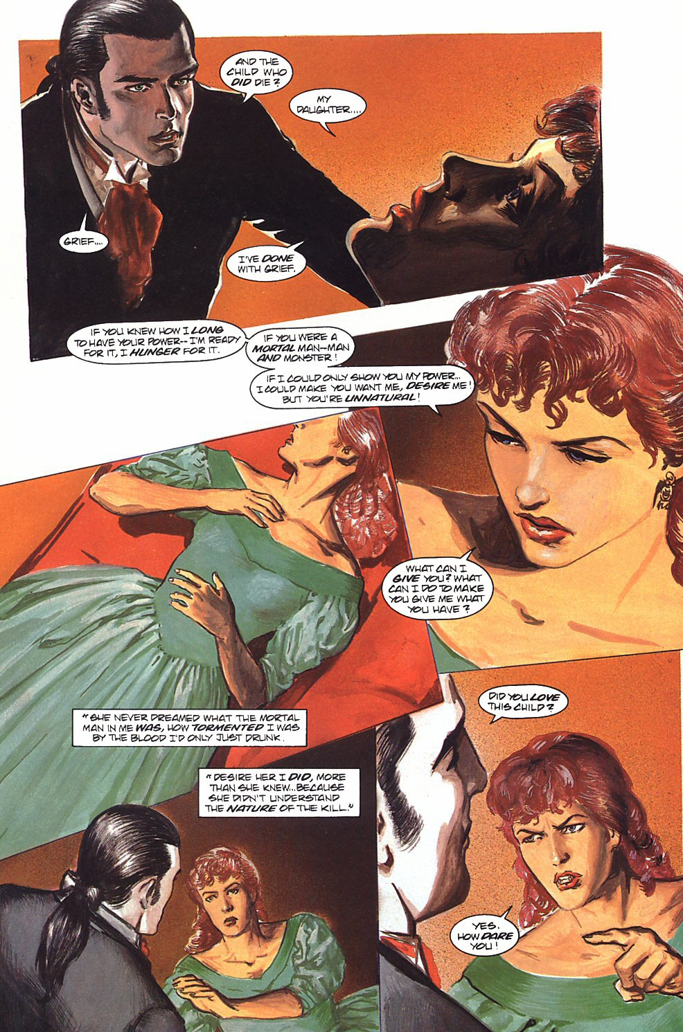 Read online Anne Rice's Interview with the Vampire comic -  Issue #9 - 27