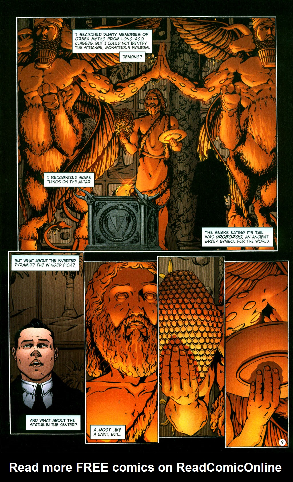 Read online Rex Mundi comic -  Issue #5 - 11