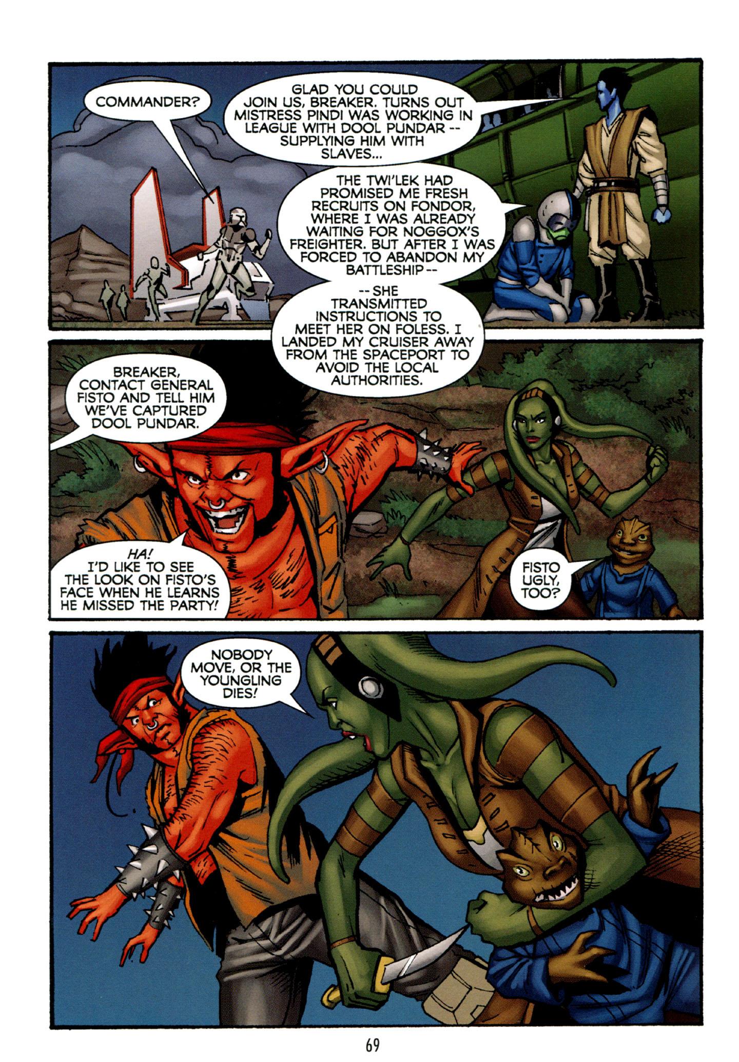 Read online Star Wars: The Clone Wars - Strange Allies comic -  Issue # Full - 70